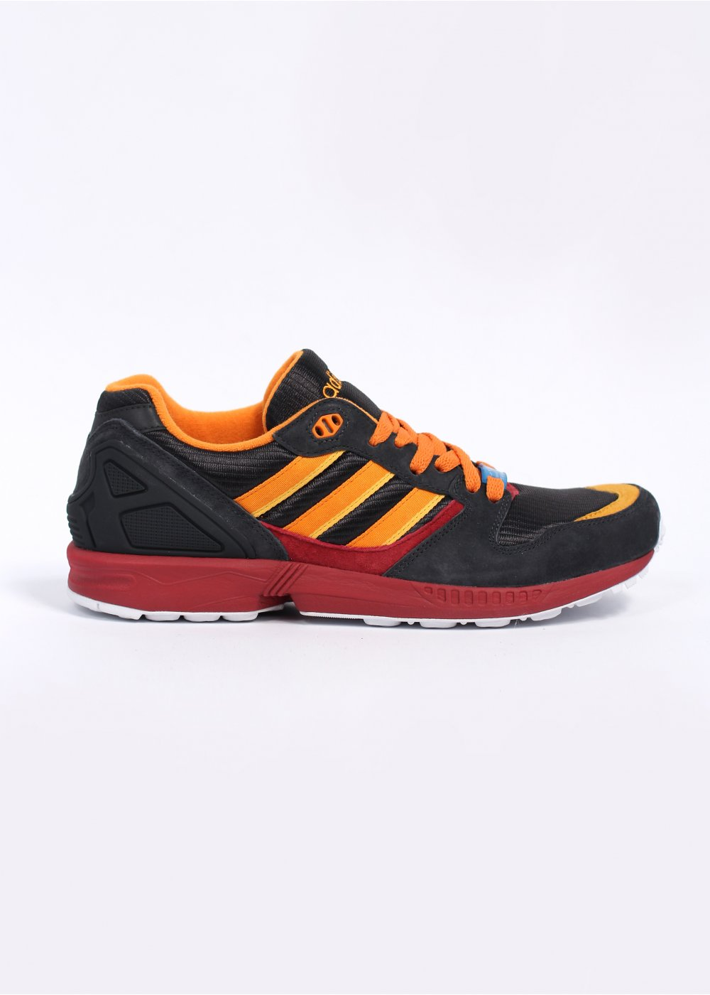 finest selection 24586 65243 adidas Originals Footwear ZX 5000 '25th Anniversary' Trainers - Carbon /  Orange