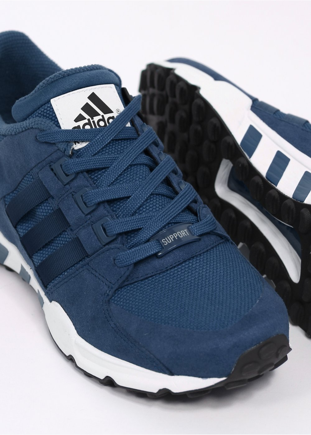 best service 942a3 d957b Equipment EQT Running Support 'Tokyo' Trainers - Tribal Blue / White Vapour