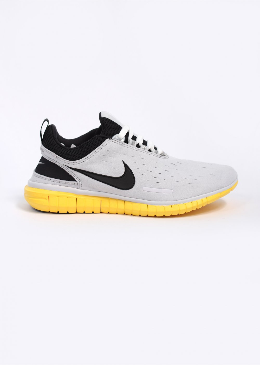 the latest 38058 f28a5 Nike Footwear Free OG Superior Trainers - Neutral Grey / Chrome Yellow