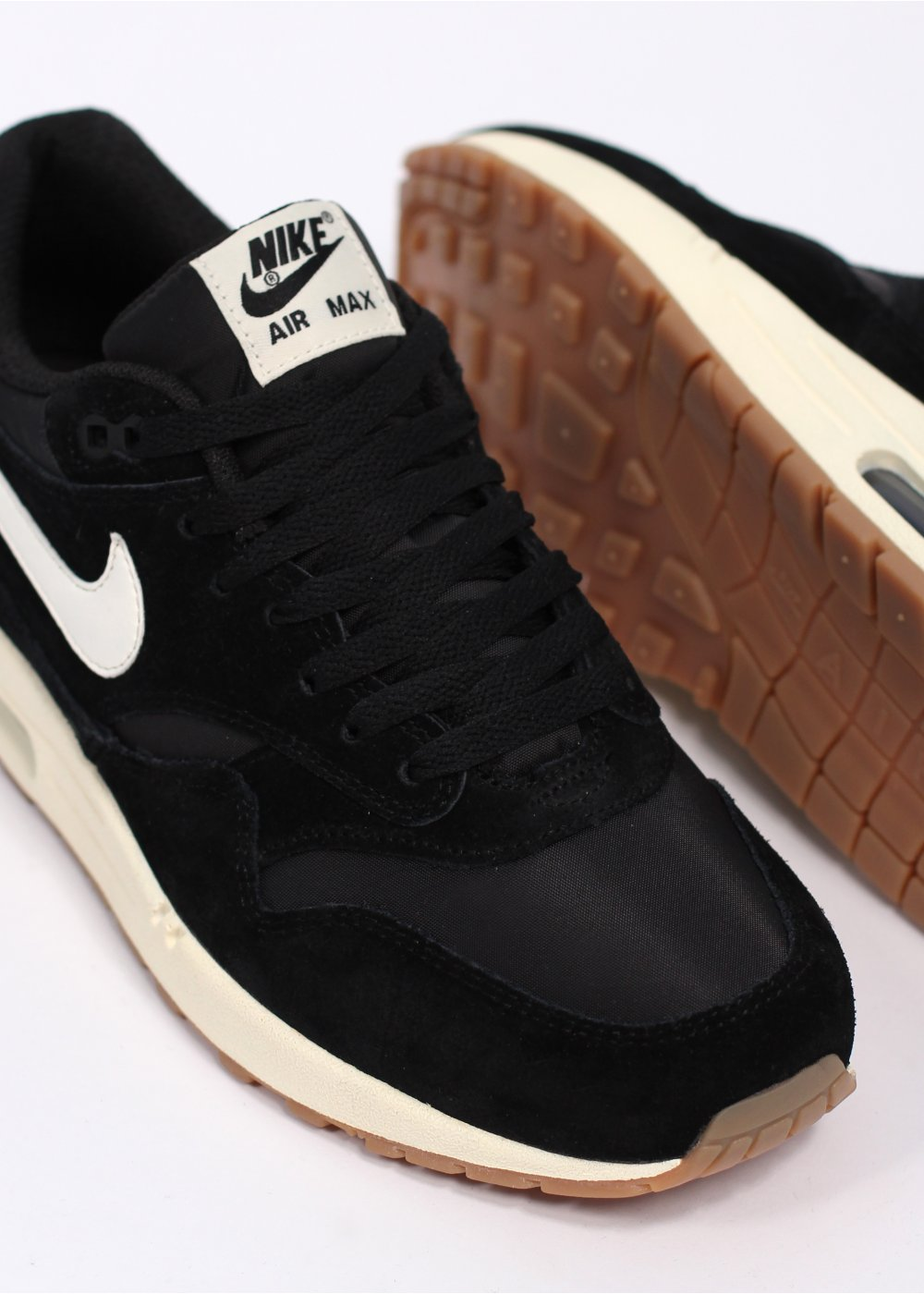 air max 1 essential black sail