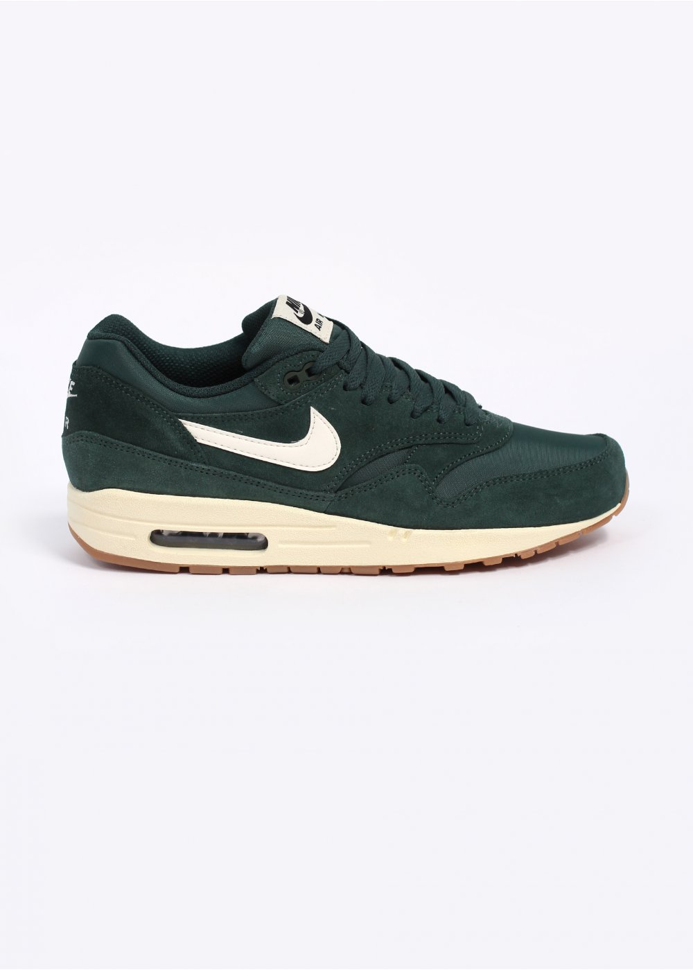 best sneakers d1440 cf380 Air Max 1 Essential Trainers - Pro Green   Sail