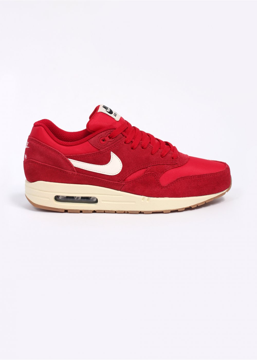 Nike Footwear Air Max 1 Essential Trainers Gym Red Sail