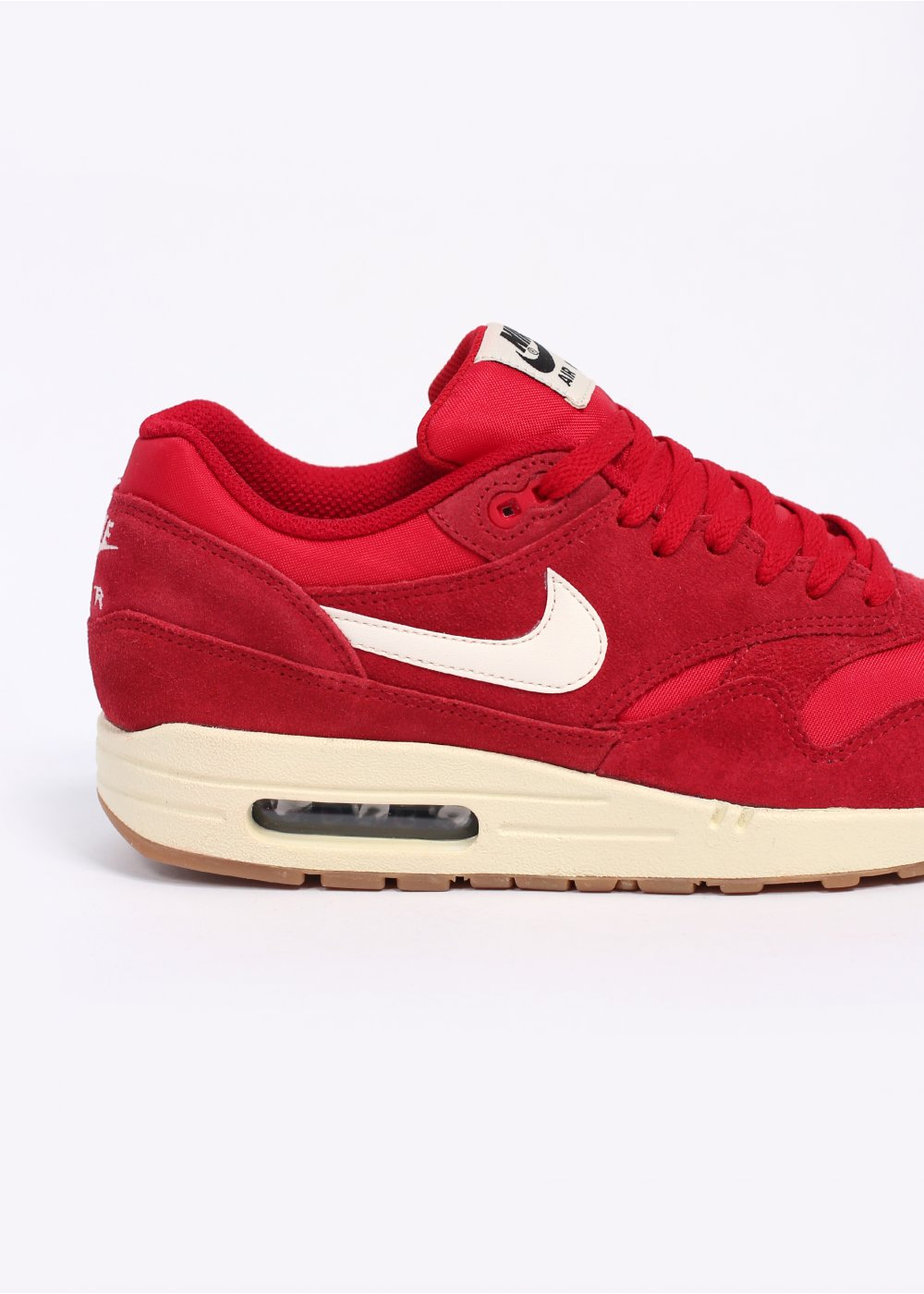 56d18e94a5 Nike Air Max 1 Essential - Gym Red / Sail / Black