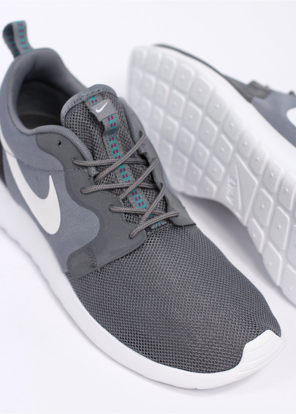 46afd298118d Nike Roshe Run HYPERFUSE - Cool Grey   Anthracite   Turbo Green   WHITE