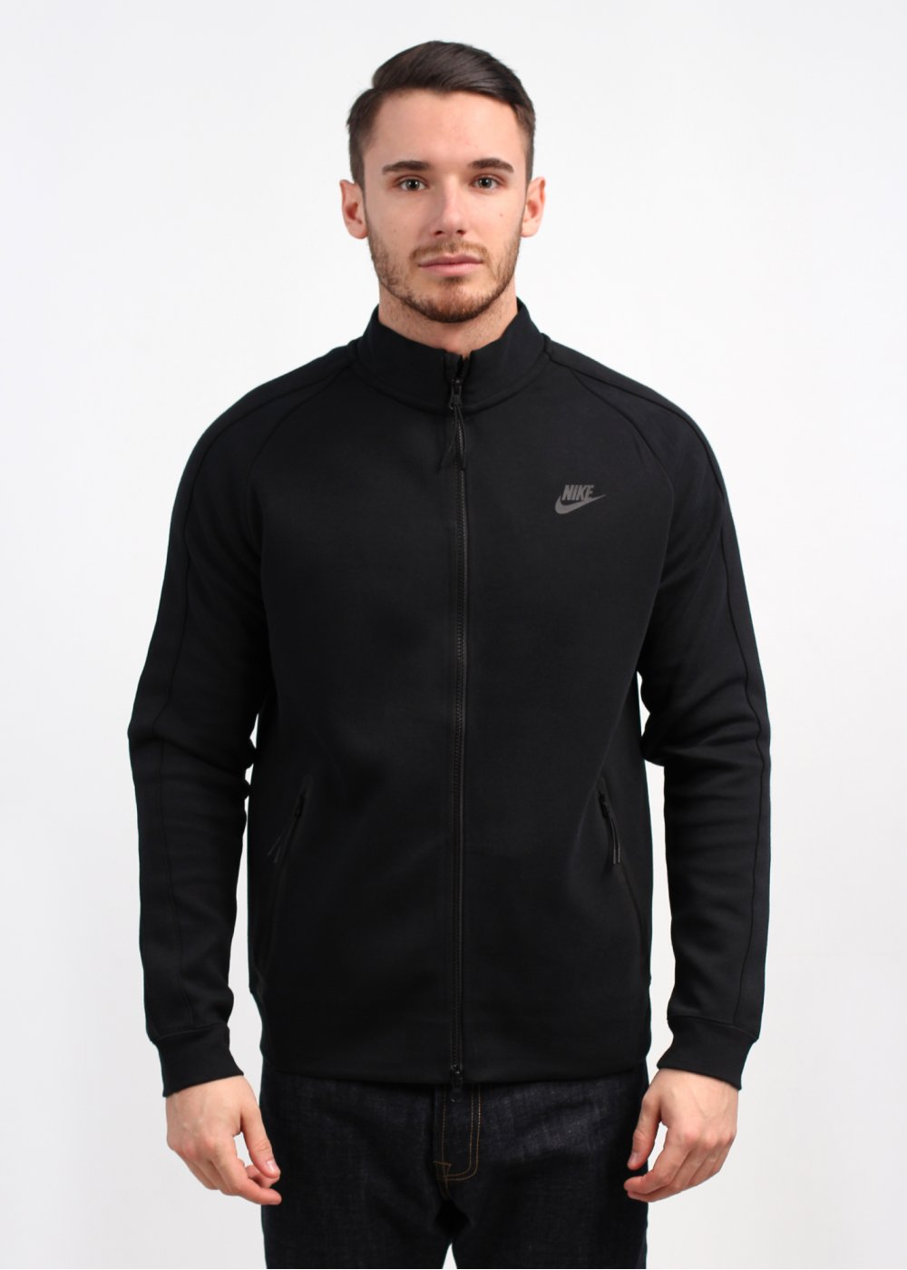 Nike Tech Fleece N98 Track Jacket - Black