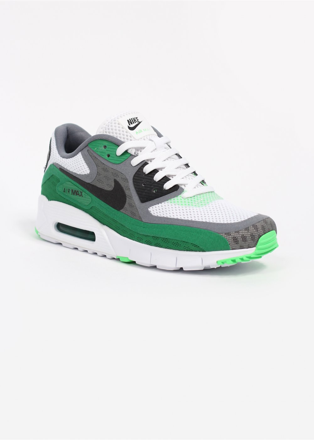 Nike Footwear Air Max 90 Breathe Trainers White Black Cool Grey