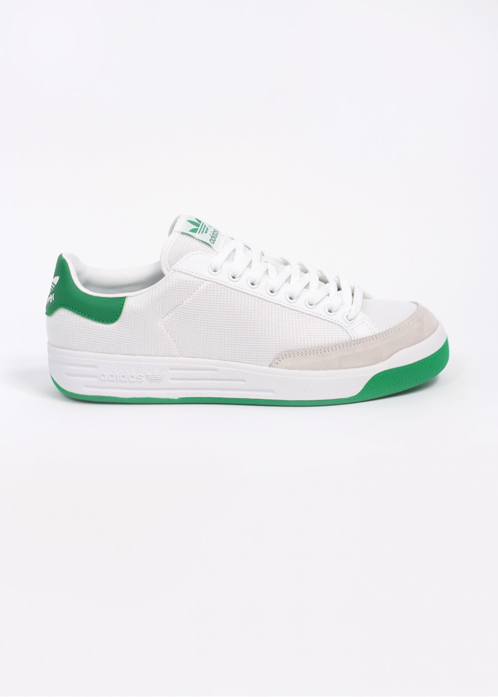 half price first look detailing adidas Originals Footwear Rod Laver Trainers - White / Green