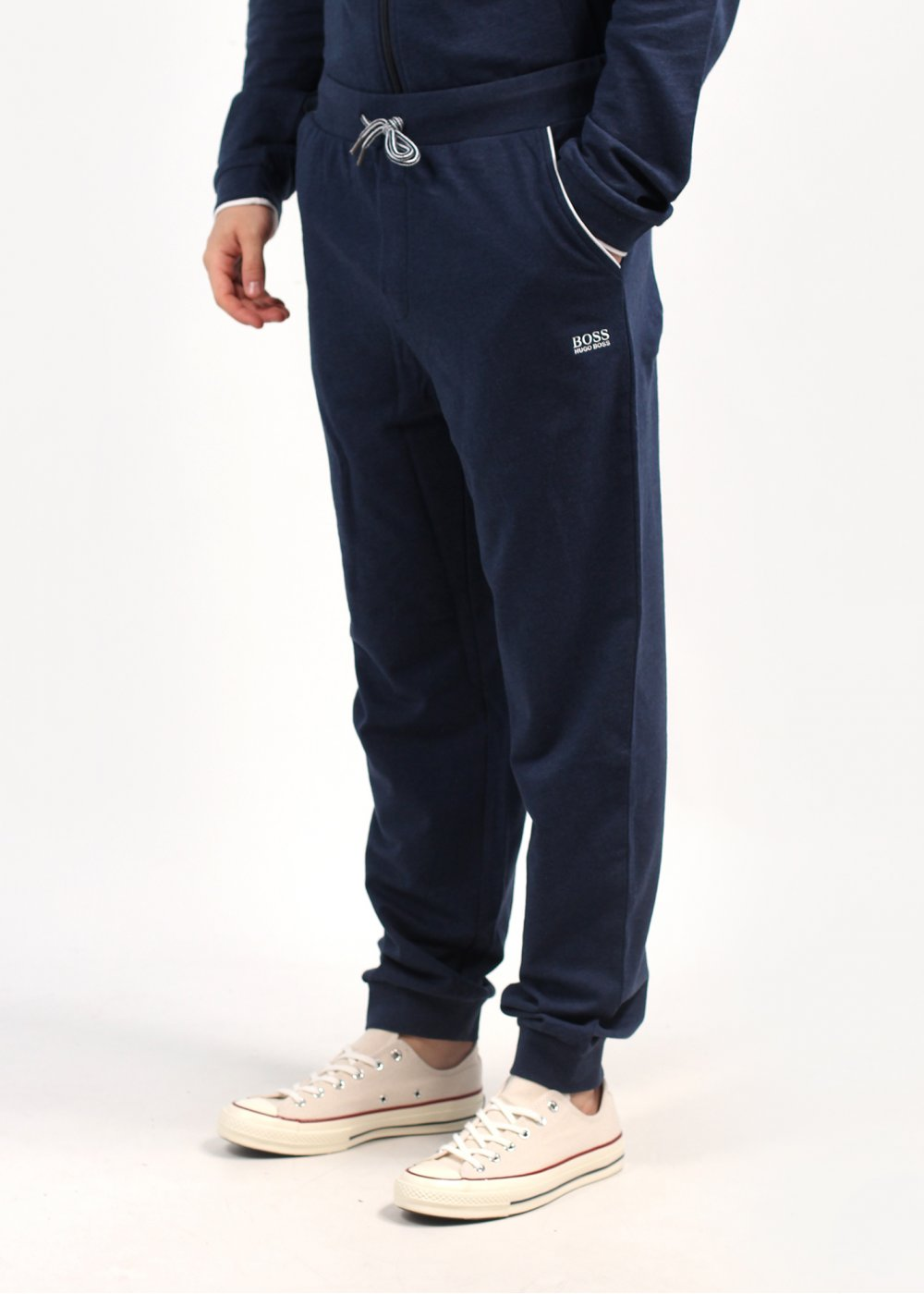 234a1d8a Hugo Boss Tracksuit Bottoms - Hugo Boss Long Pant Cuff - Navy