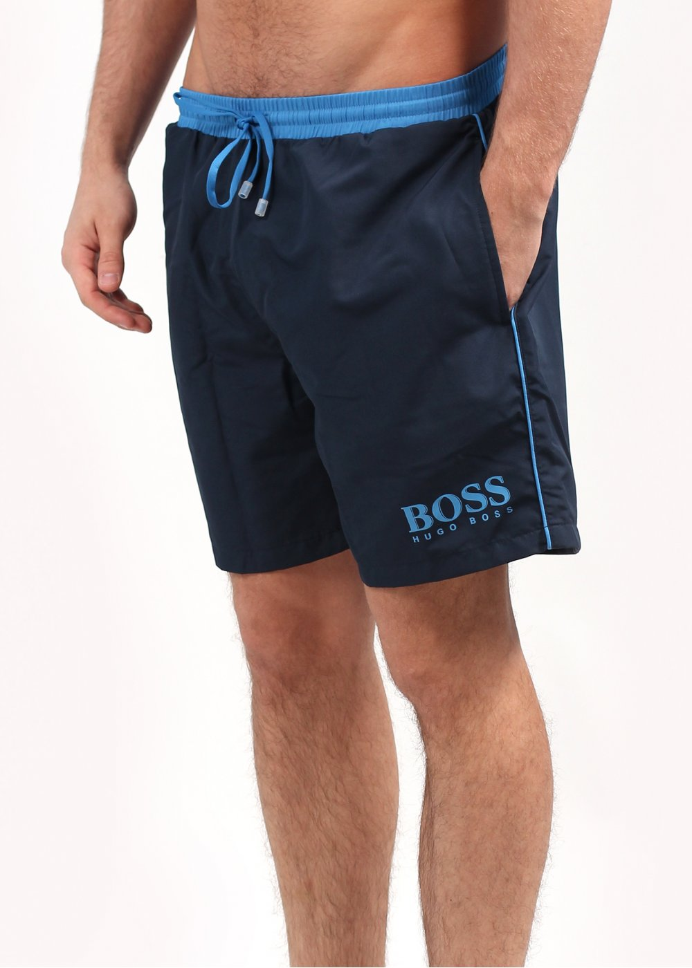 df4505813323 Hugo Boss Black Starfish Swim Shorts - Navy