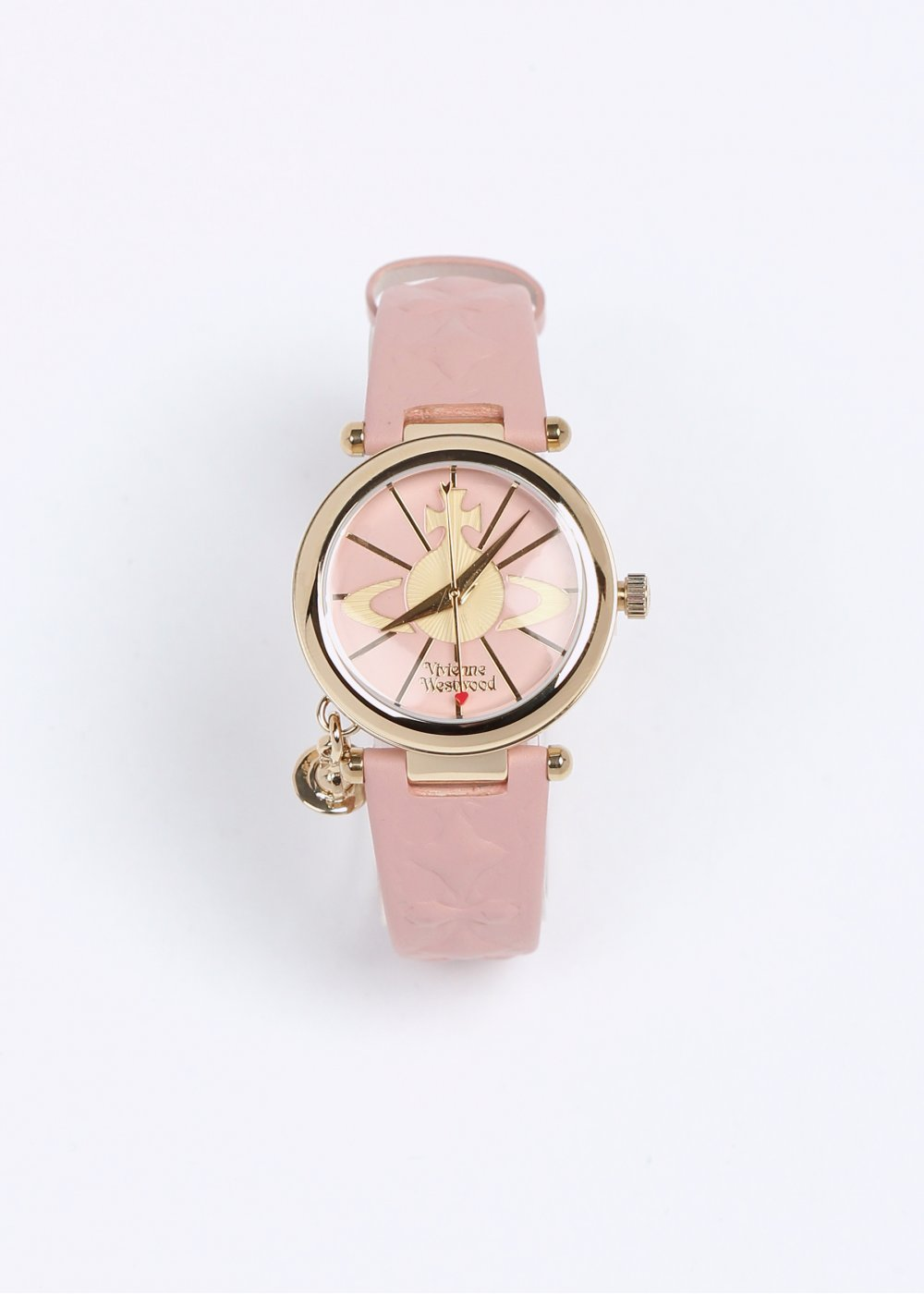 6d6cde7a51 Vivienne Westwood Orb II Watch - Pink / Gold , SS14.