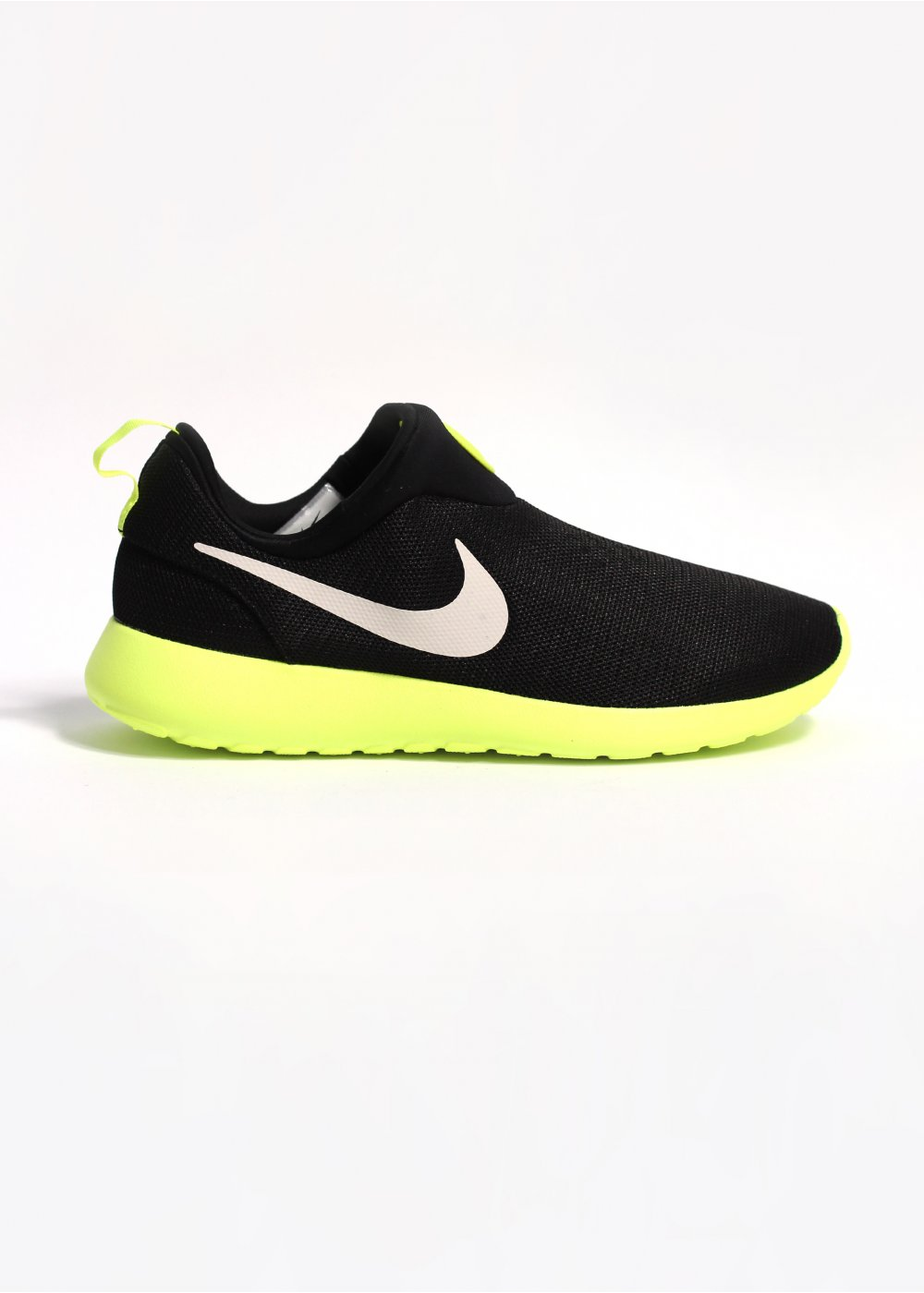 dedb42f0cb4d Rosherun Slip On Trainers - Black   White   Volt