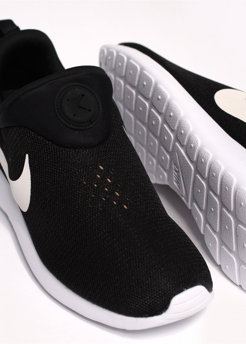 5178a467abca Rosherun Slip On Trainers - Black   White