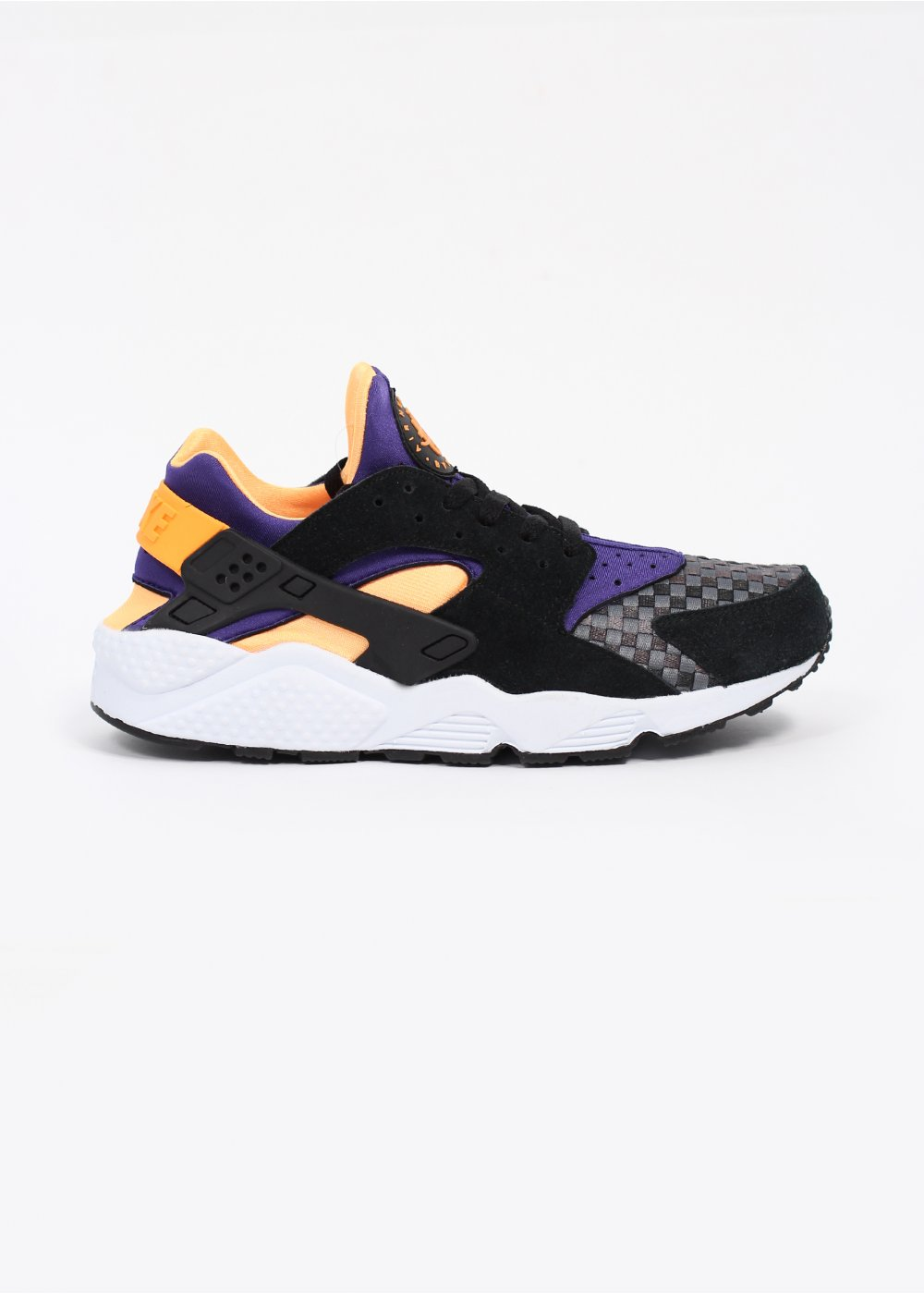 size 40 9e60f 6c23c Air Huarache Run Woven Trainers - Black   Atomic Mango