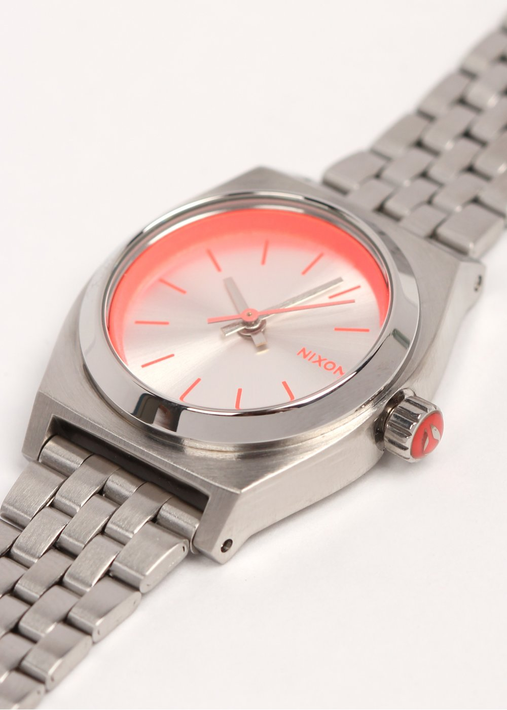 product free overstock stainless shipping gunmetal watches steel mens nixon teller time jewelry watch today