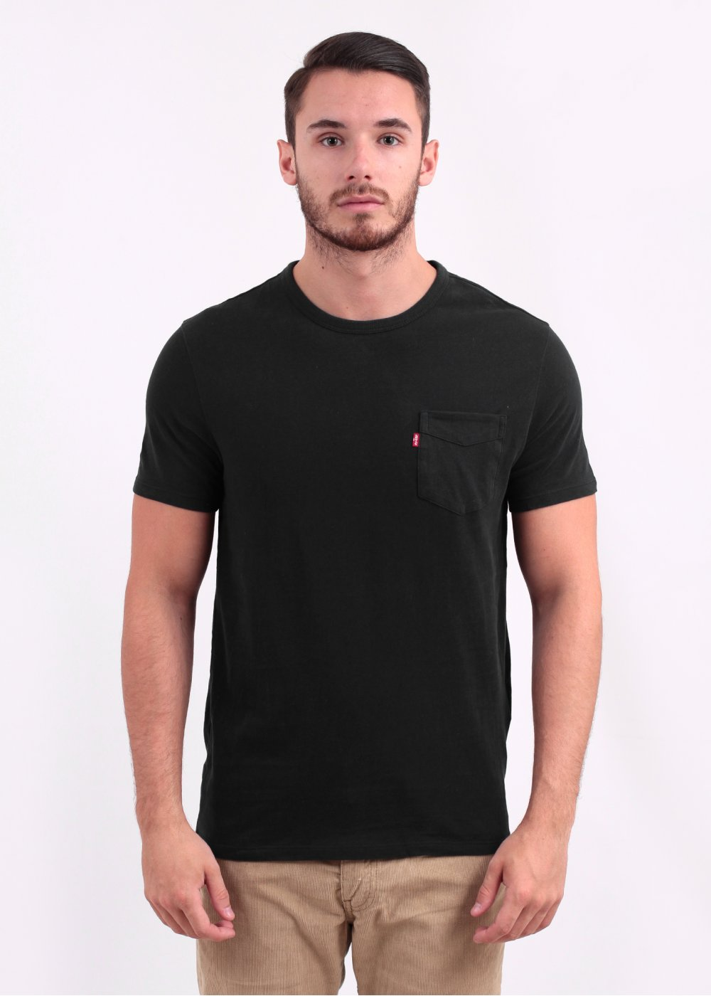 a8c4f988 Levis Short Sleeve Sunset Pocket Tee - Jet Black
