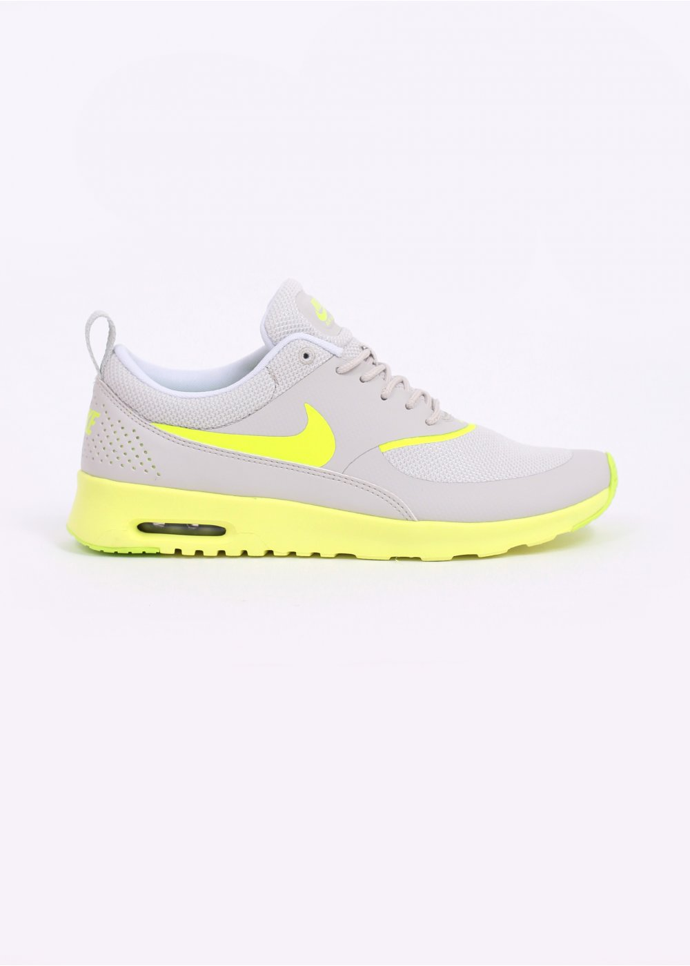 Air Max Thea Trainers - Grey / Yellow