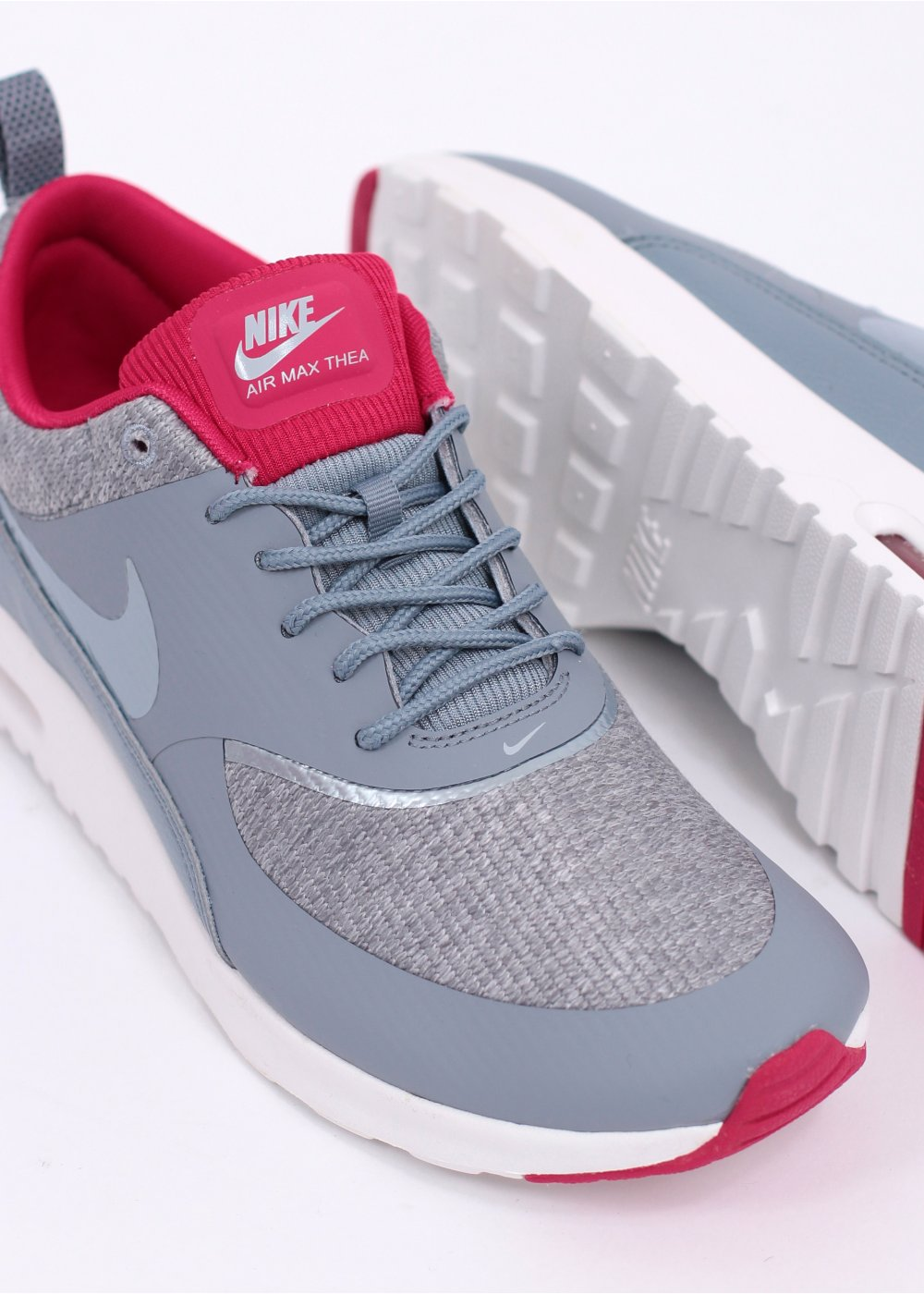 sneakers for cheap 0ff85 3ab51 Air Max Thea Trainers - Grey  amp  Pink