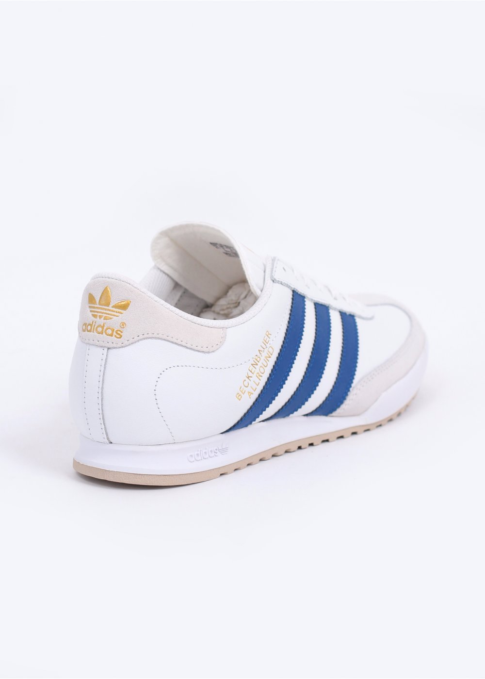 b0c0f23f93ba adidas Originals Beckenbauer Trainers - White   Royal Blue