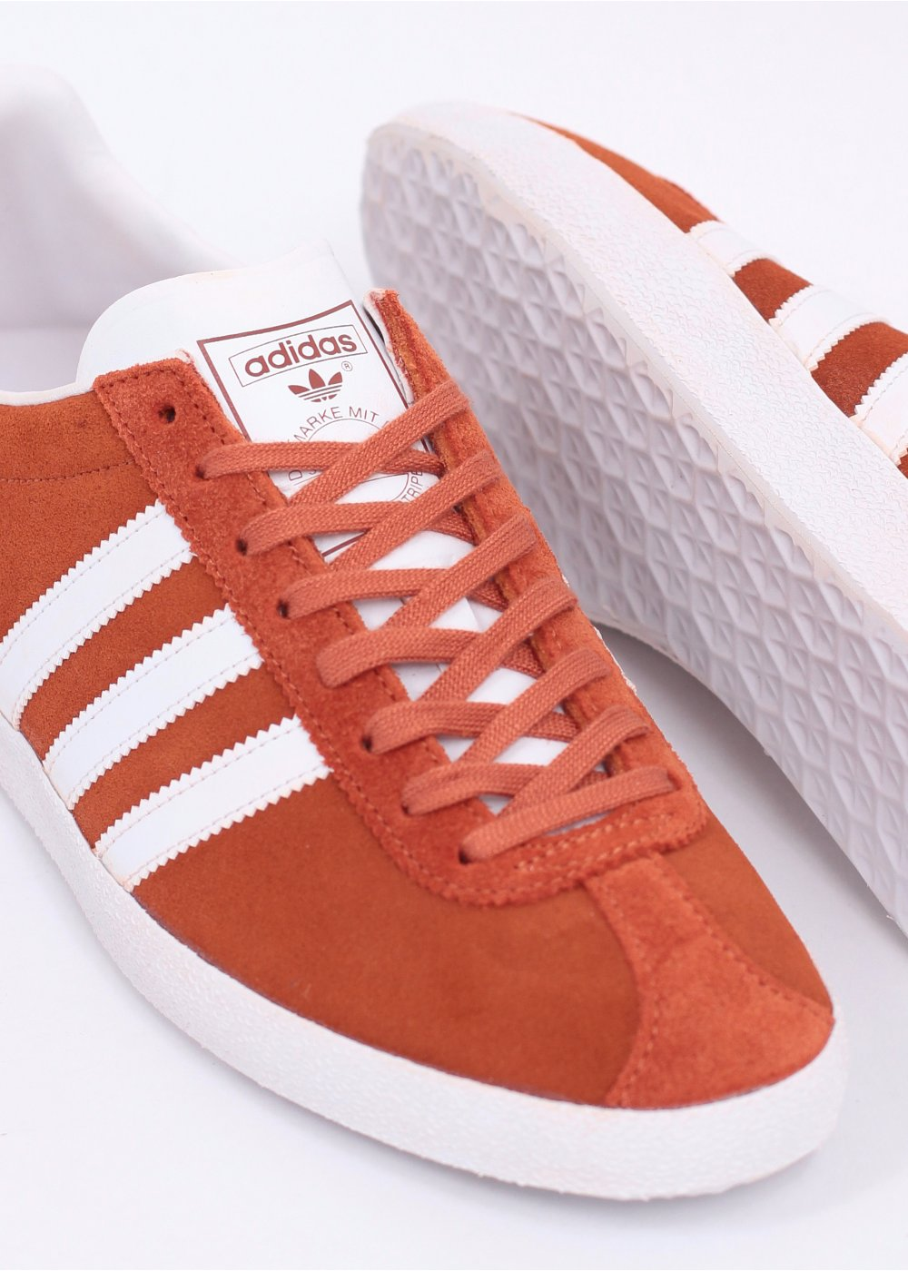 adidas Originals Gazelle OG Trainers - Fox Red   Running White 2b911bb2c74e