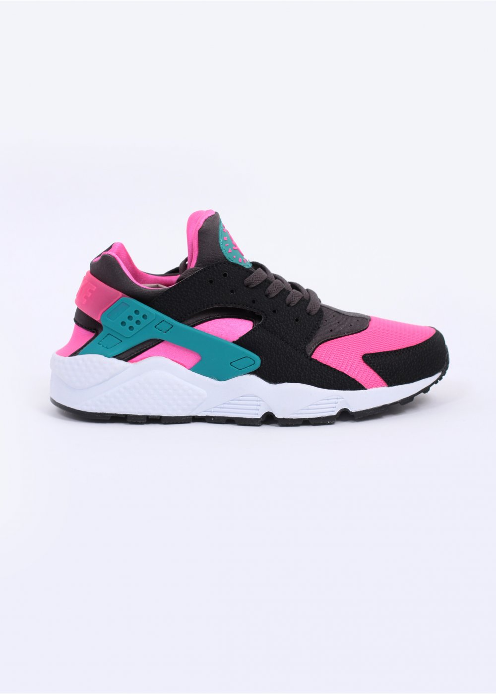 promo code e197f 6bf9c Air Huarache Trainers - Hyper Pink   Dusty Cactus   Medium Grey
