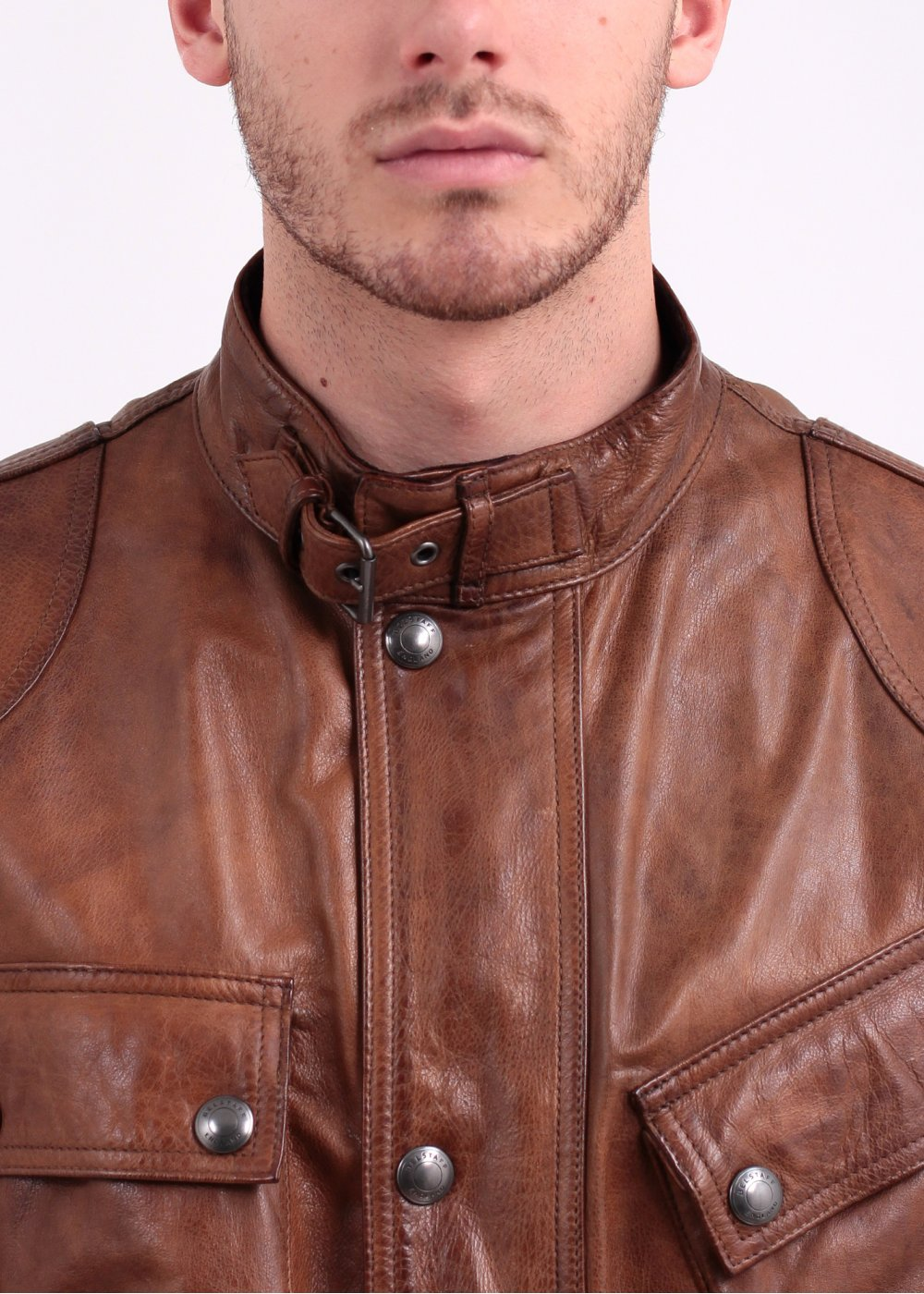 121184cfde Belstaff The Panther Hand Waxed Leather Jacket - Cognac