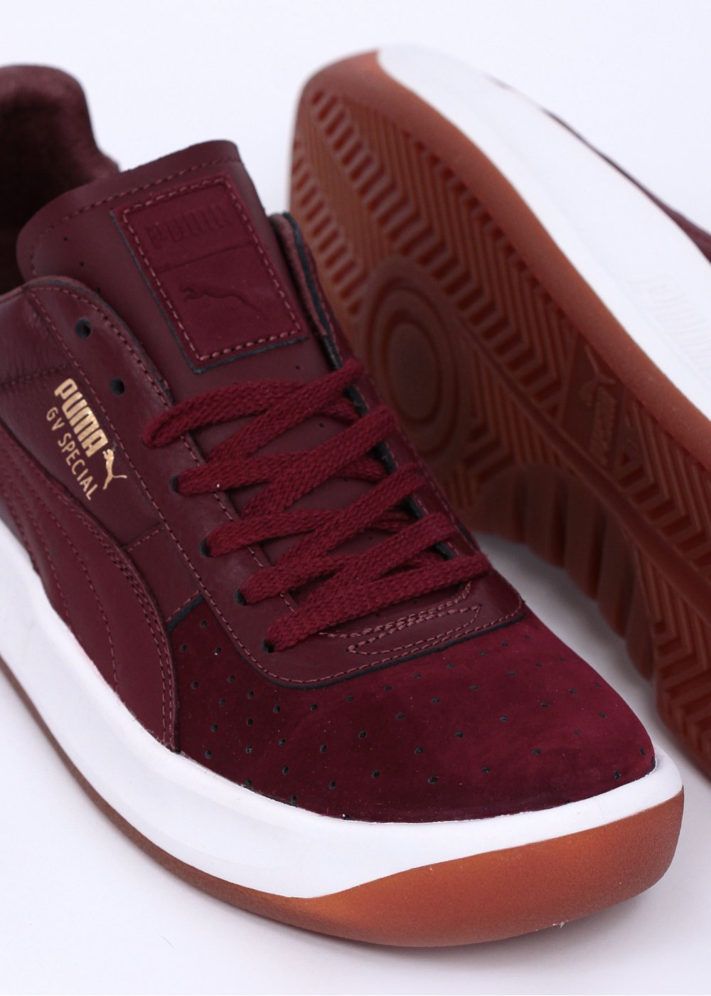 competitive price 3447d c823b Puma GV 'Guillermo Vilas' Special Exotic Trainers - Burgundy