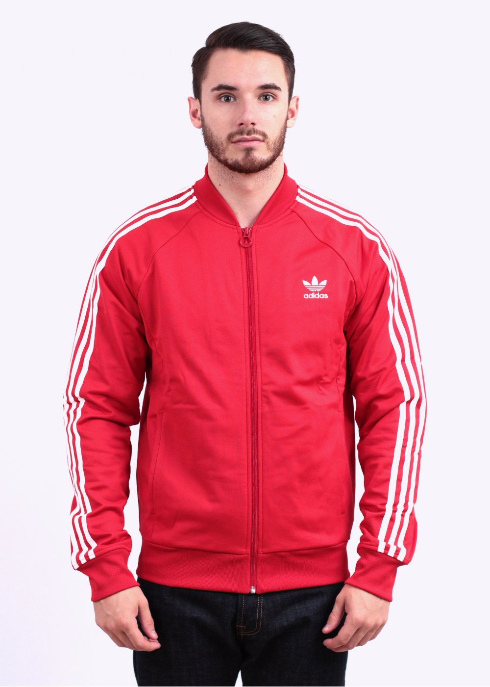 4d2b903a6a9c5e adidas Originals Superstar Track Top - Collegiate Red
