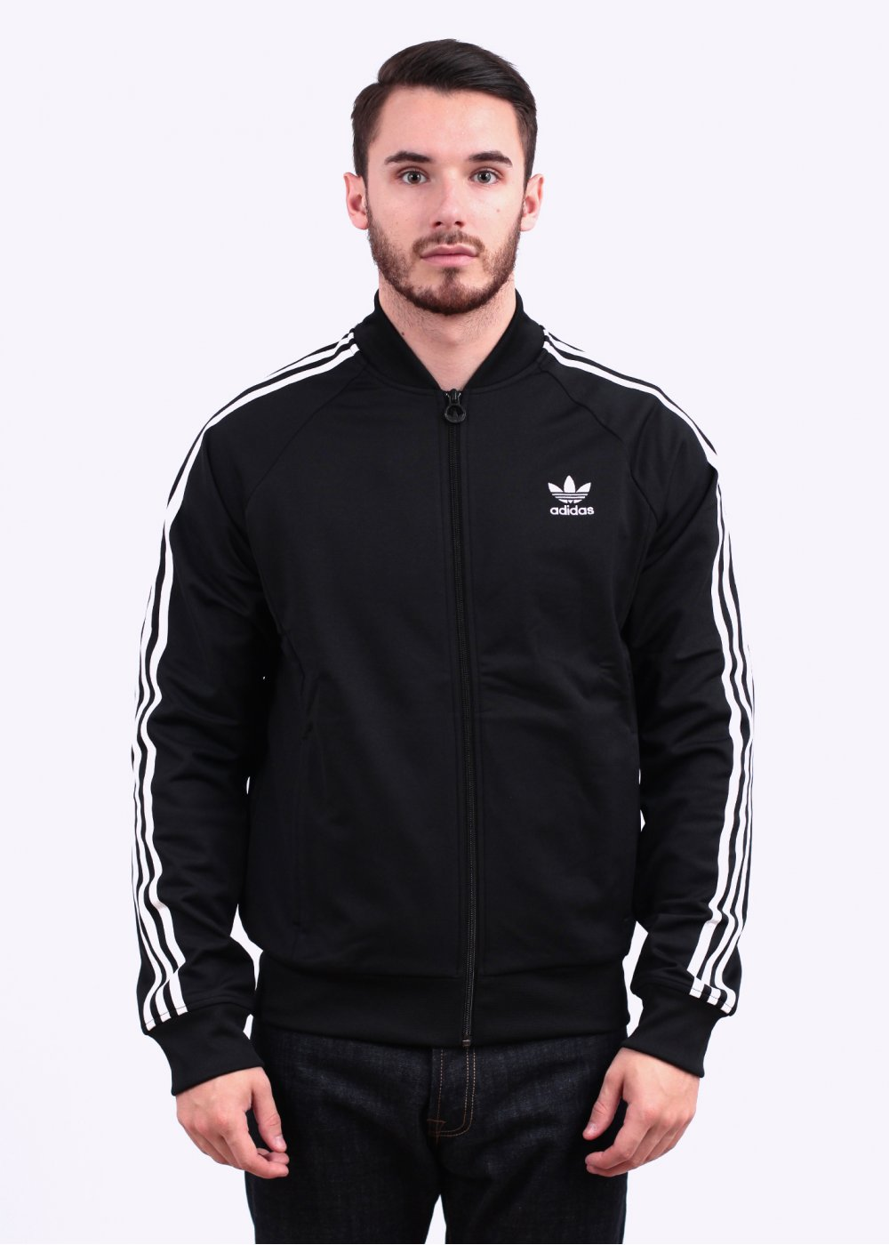 b867e85952d9 adidas Originals Superstar Track Top - Black
