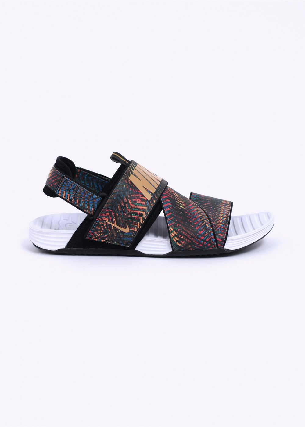 58b968e55a33 Nike Solarsoft ZigZag QS Sandals - Tour Yellow   Black   Gold