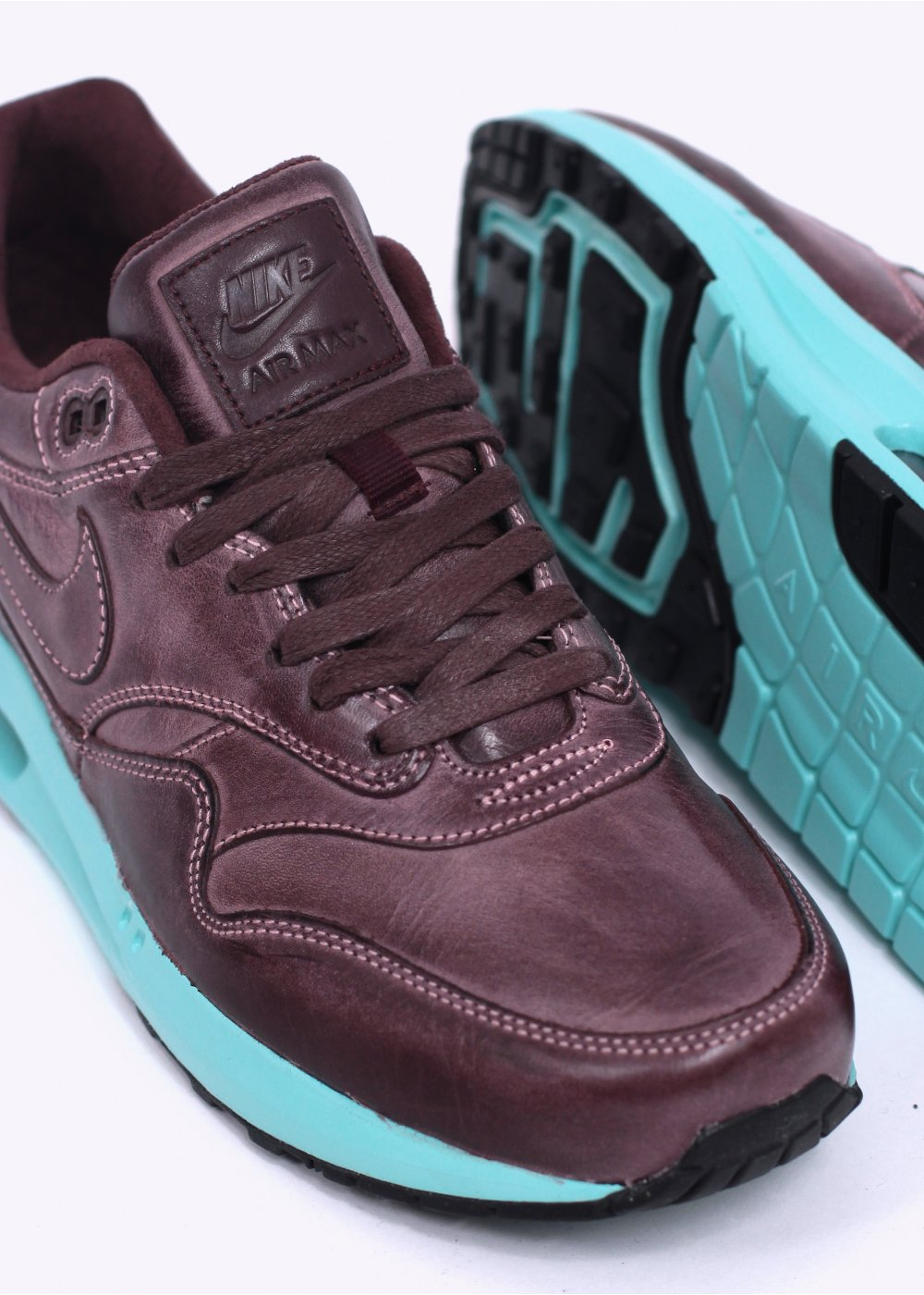 online store 23e28 0ead2 Nike Air Max Lunar 1 'Burnished Leather' LTR QS Trainers - Mahogany ...