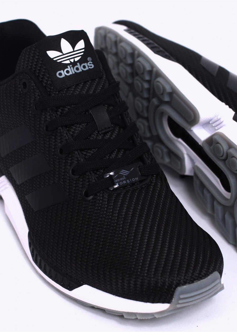 9331871772197 adidas Originals ZX Flux Trainers - Black