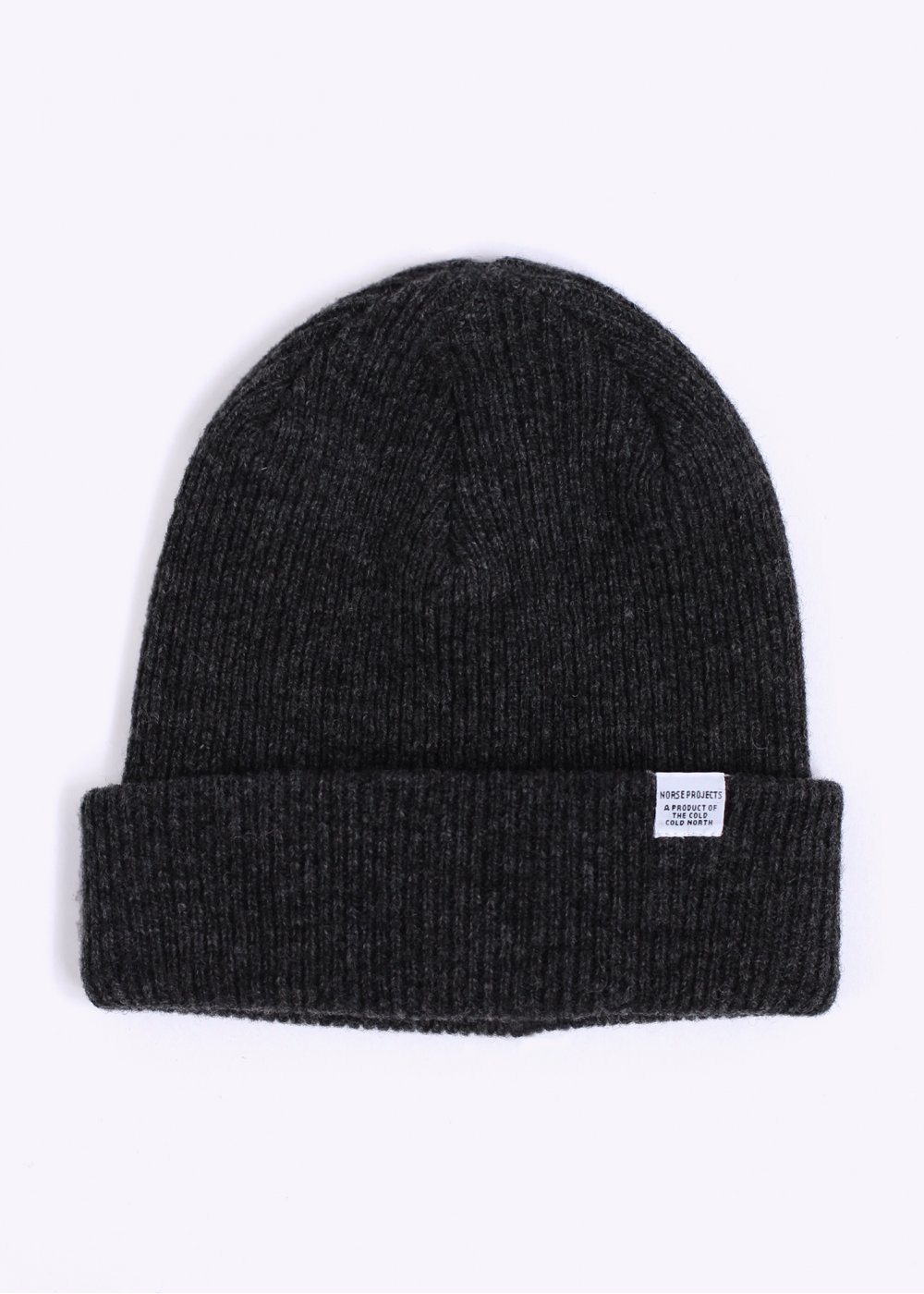 4bdc1f3ad12 Norse Projects Classic Beanie Hat - Charcoal