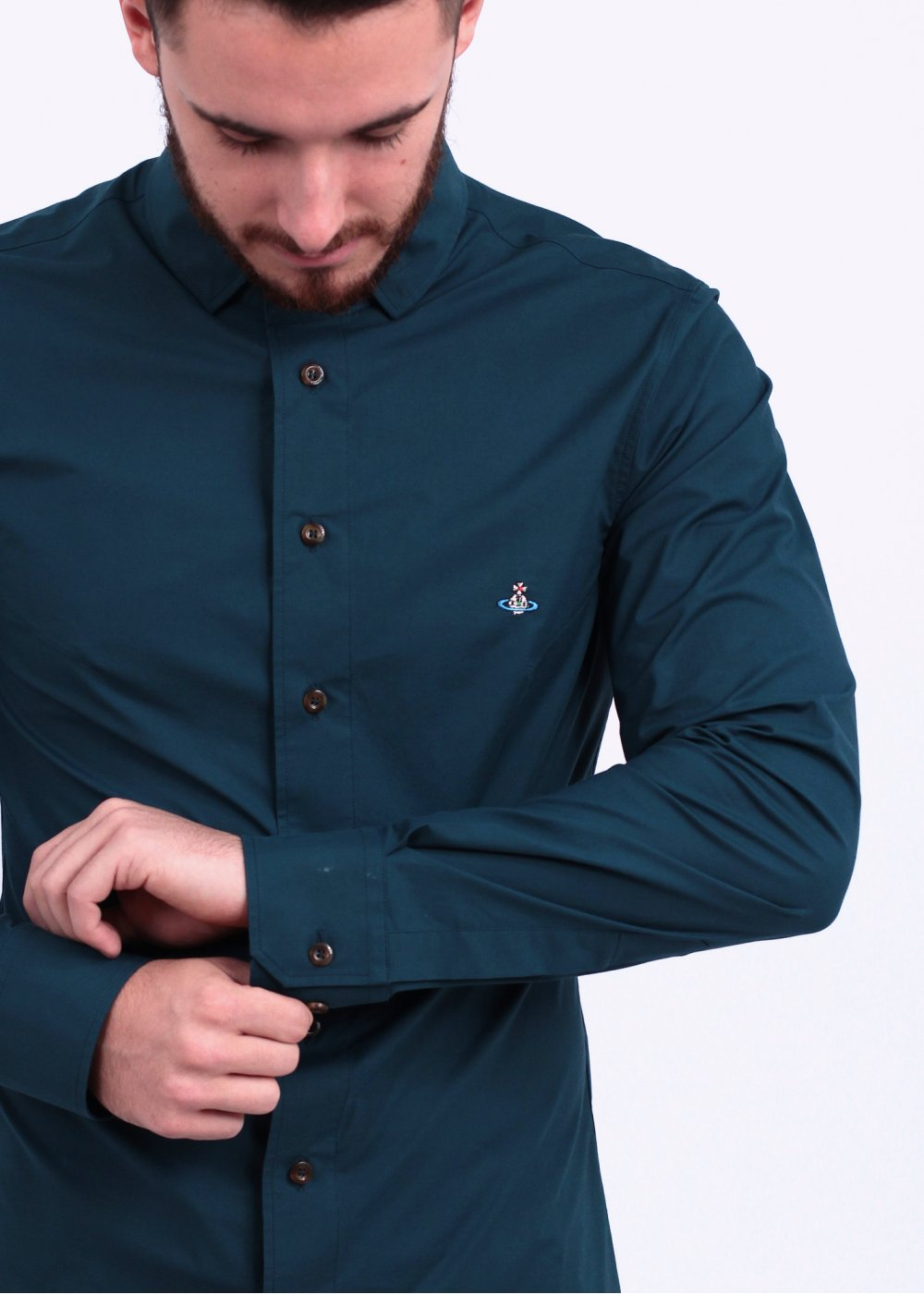 Vivienne Westwood 3 Button Shirt - Teal