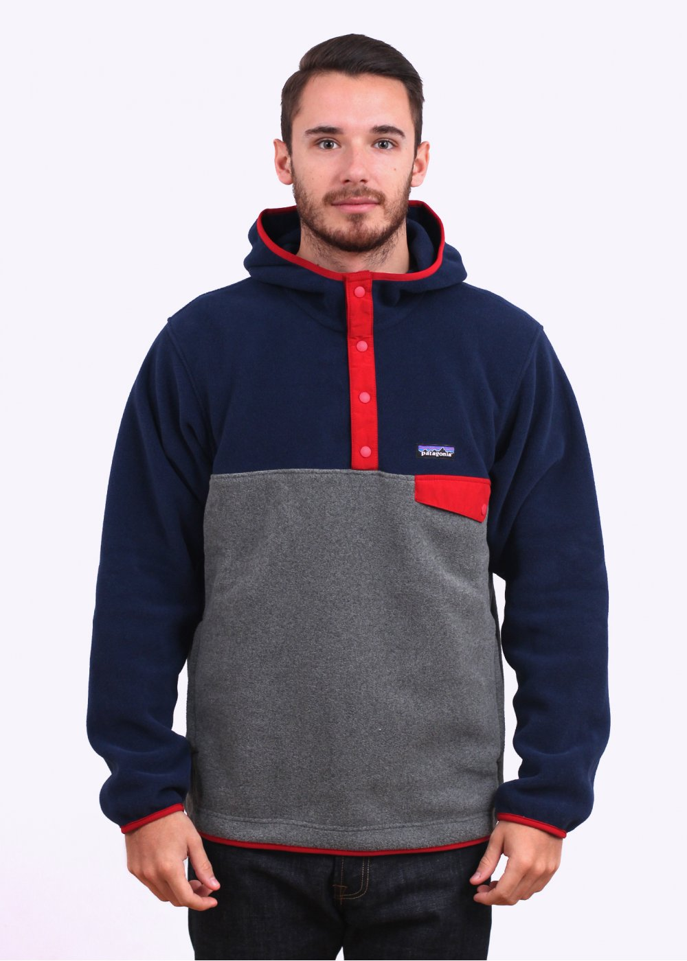 Patagonia Synchilla Snap T Hoody Navy Nickle