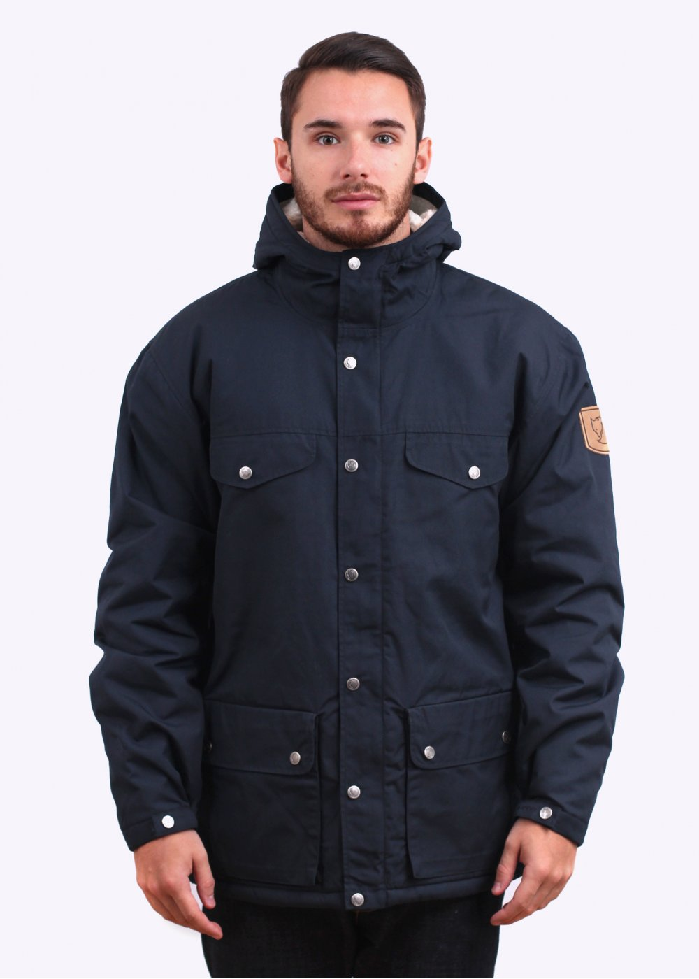 ed696076 Fjallraven Greenland Winter Jacket - Dark Navy