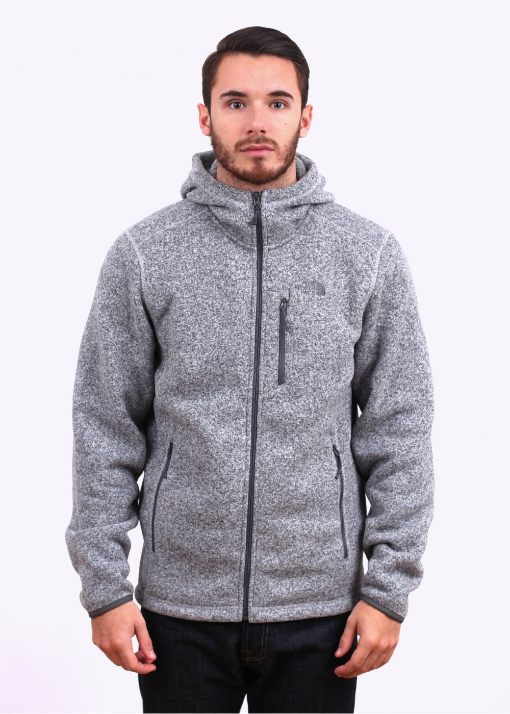3208705f7 The North Face Gordon Lyons Zip Hoody - Grey