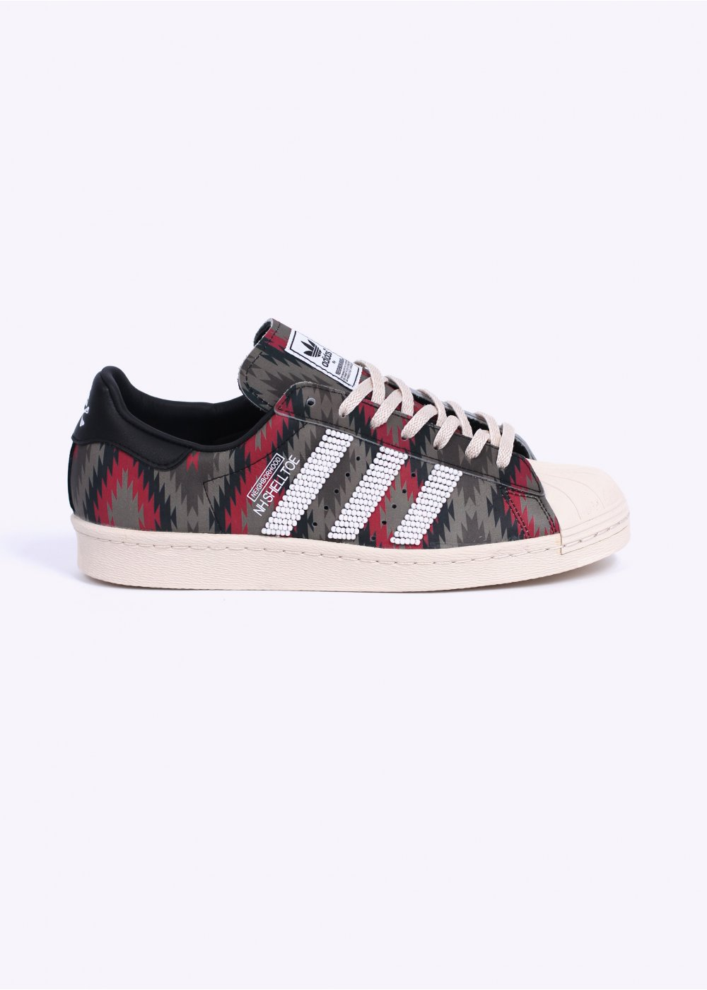 hot sale online 121e0 ec9d9 adidas Originals by Neighborhood Shelltoe Trainers - Multi-Coloured