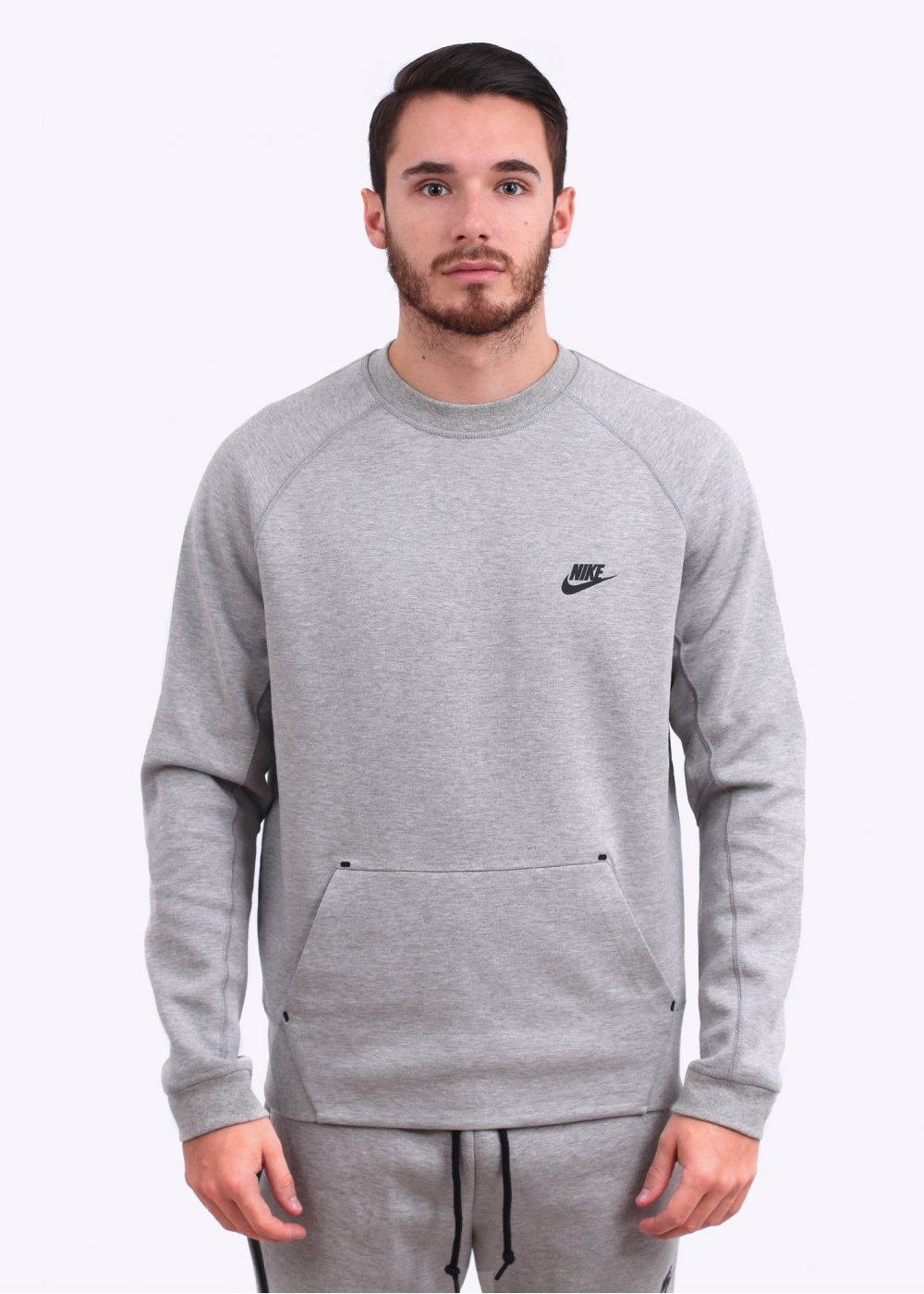 Nike Apparel Tech Fleece Crew Sweatshirt Grey