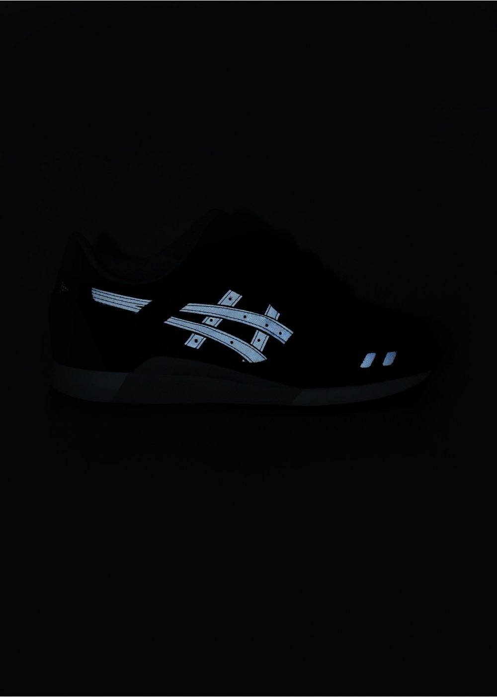 new product 5e997 1d0be Gel-Lyte III Trainers - Burgundy / Grey / Reflective