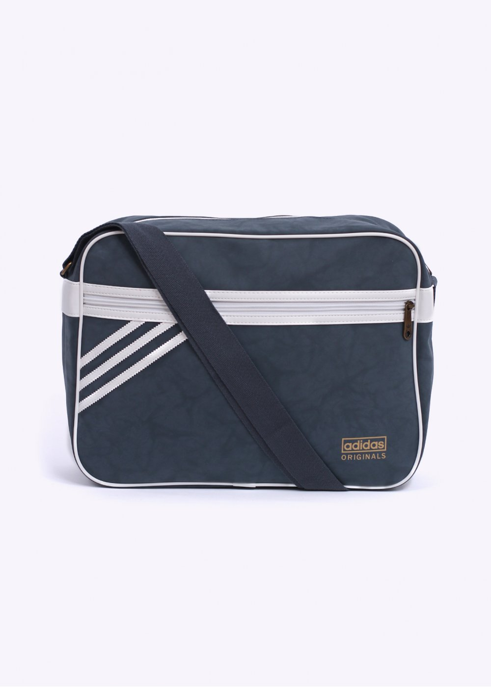9de48db5f5 adidas Originals Airliner Suede Bag - Onix   White