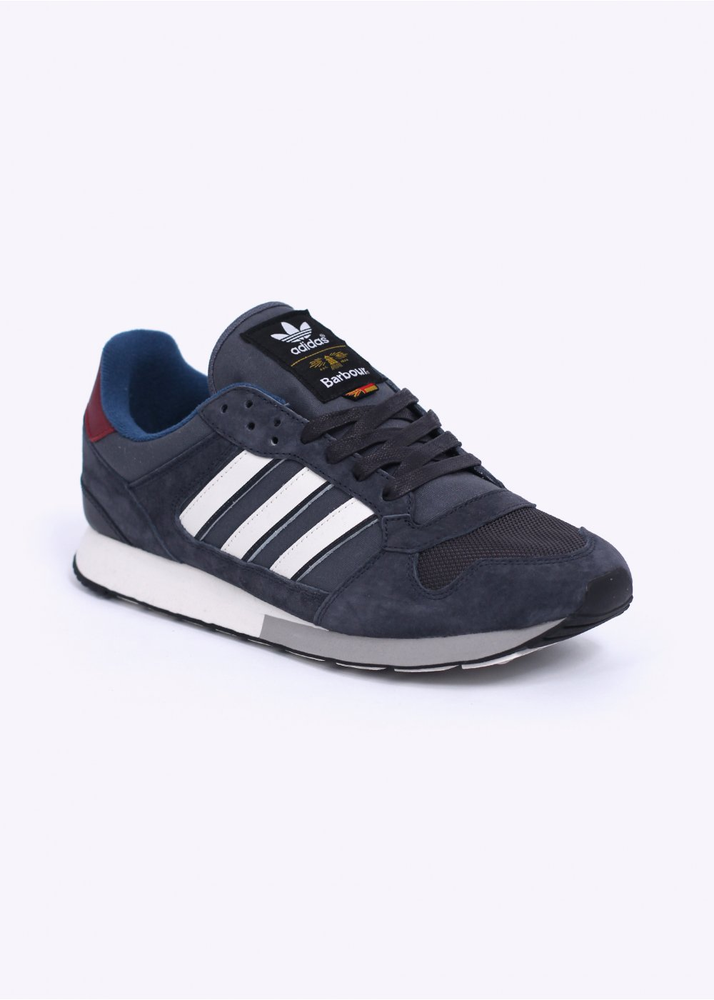Adidas Originals Apparel Adidas Originals Footwear Alife Asics Barbour - Zx 555 trainers solid grey white vapour