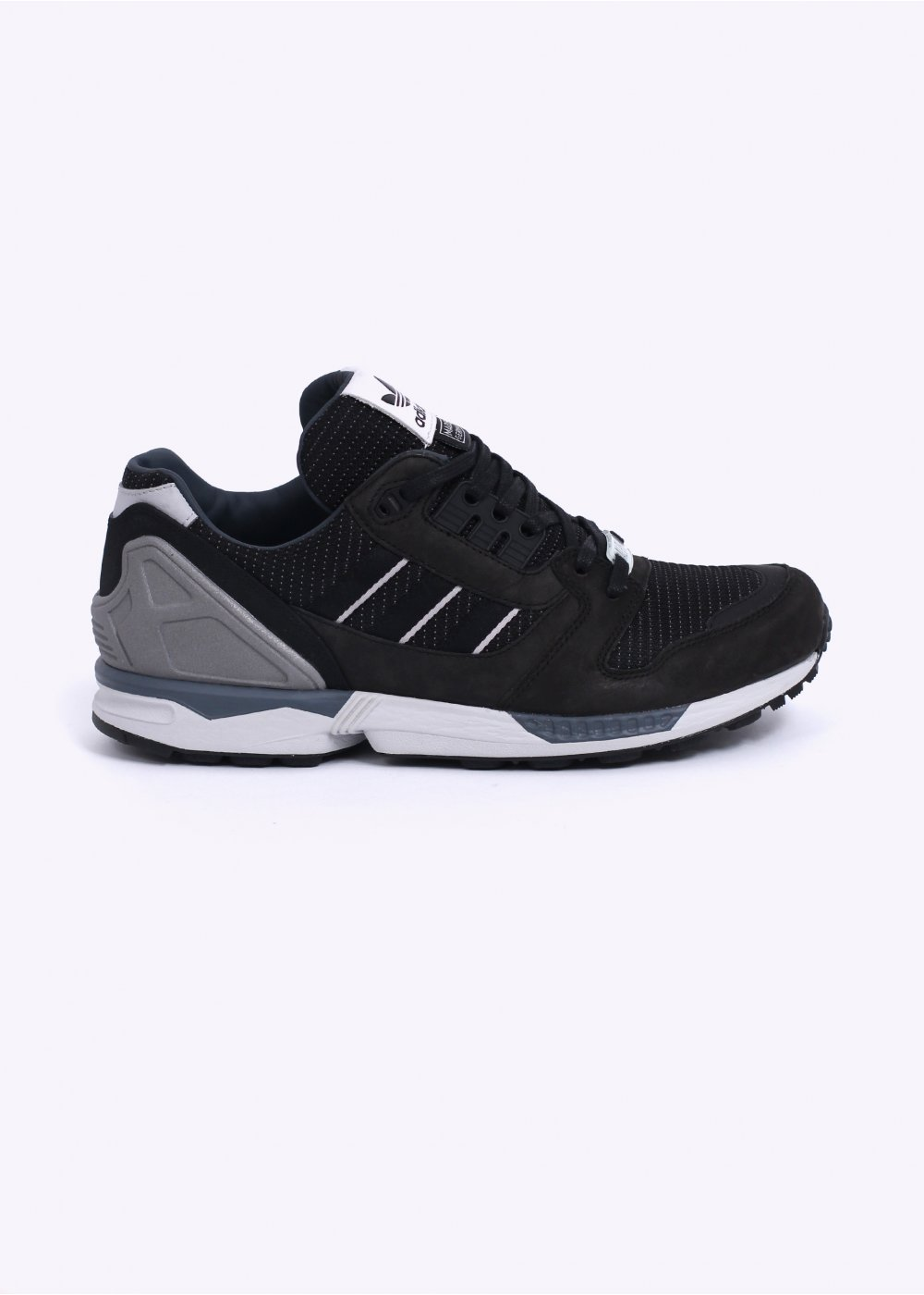 reputable site 6b95d 8062a Fall of the Wall - Alpha  039  ZX 8000 Trainers - Black   Solid