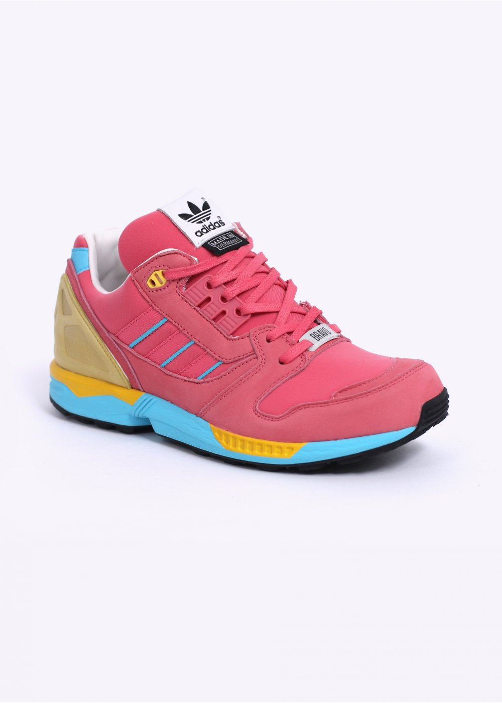 huge discount eb83d 2389a Fall of the Wall - Bravo  ZX 8000 Trainers - Bliss Pink   Light Aqu