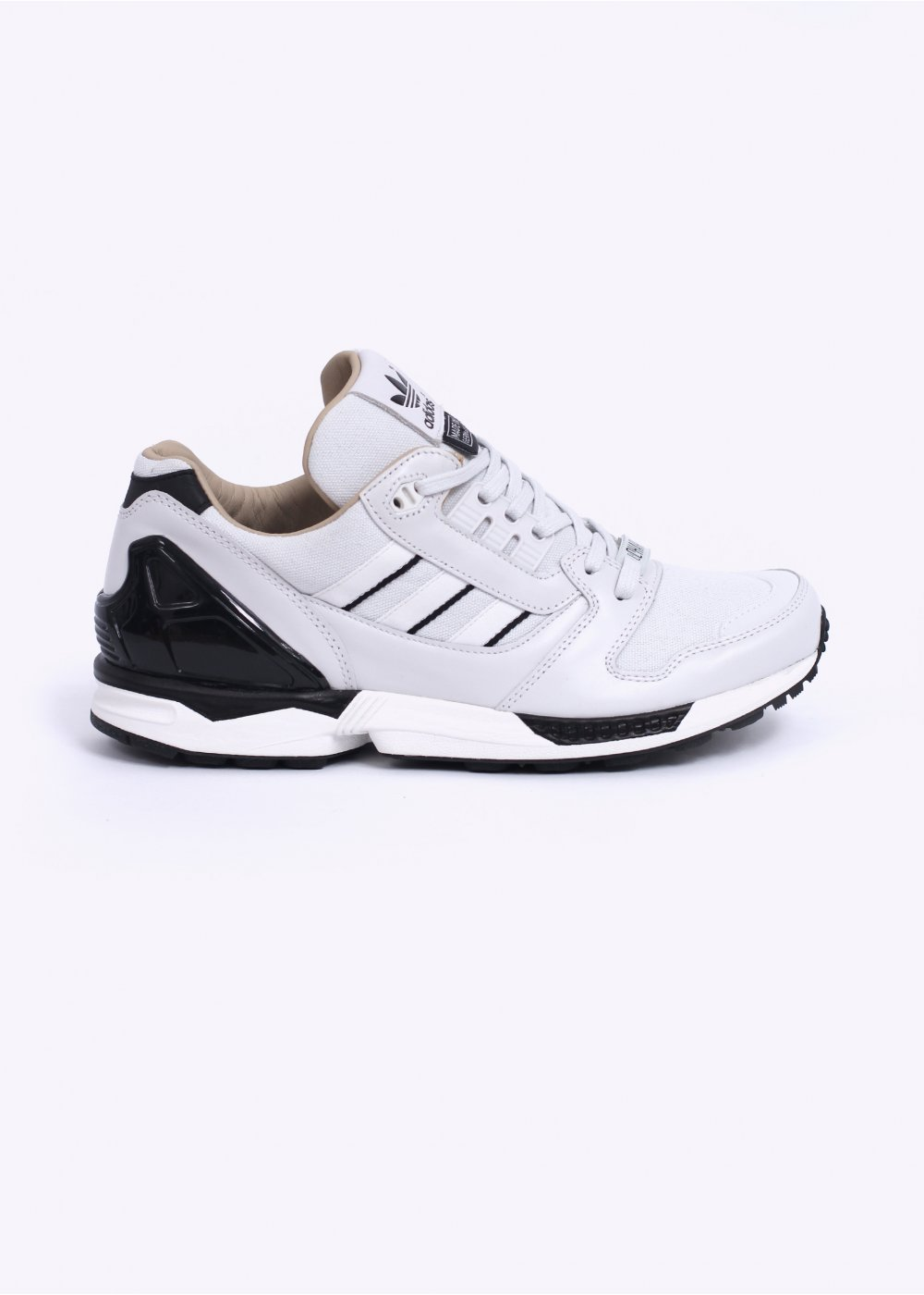 sports shoes d3643 b69d9 adidas Originals Footwear Fall of the Wall - Charlie' ZX 8000 Trainers -  Neo White / Blac
