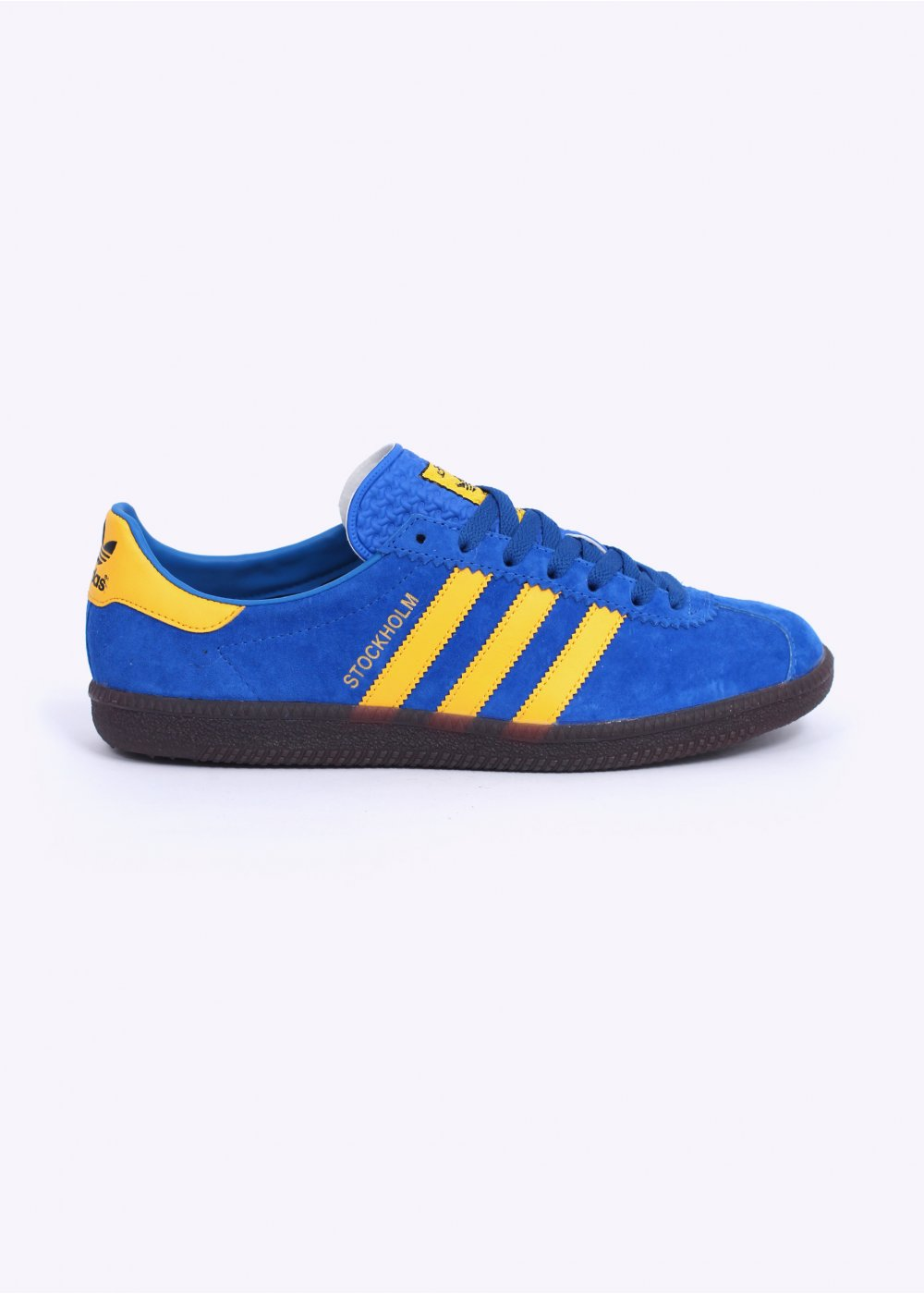 adidas Originals Stockholm Trainers - Blue   Yellow 1c212ea0f6f20