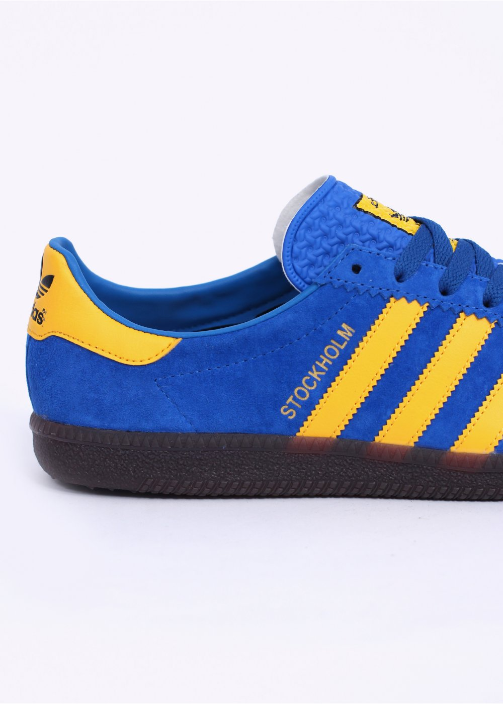 adidas Originals Footwear Stockholm OG Trainers Blue Yellow