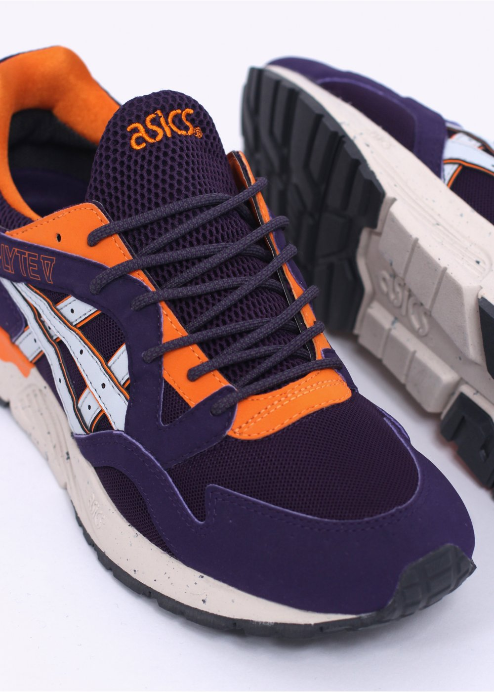 Asics Gel-Lyte V Gore-Tex - Purple   Orange fd5d858518de