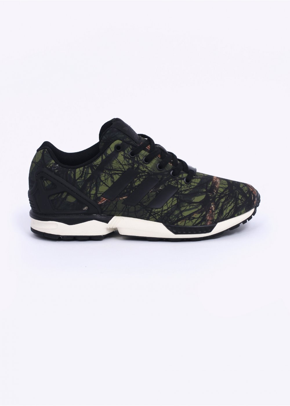 best service 37990 462bb adidas Originals Footwear ZX FLux - Green / Black