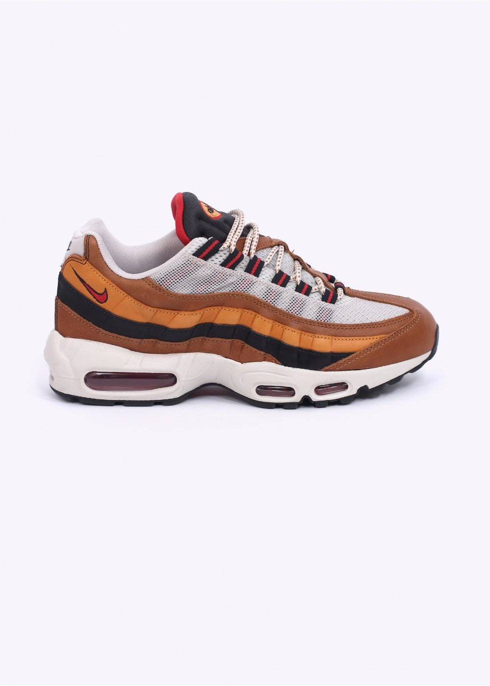 c36e61b8fd21 Nike QS Air Max 95  Escape Pack  - Baroque Brown   Ale Brown   Red Clay    Flat Opa