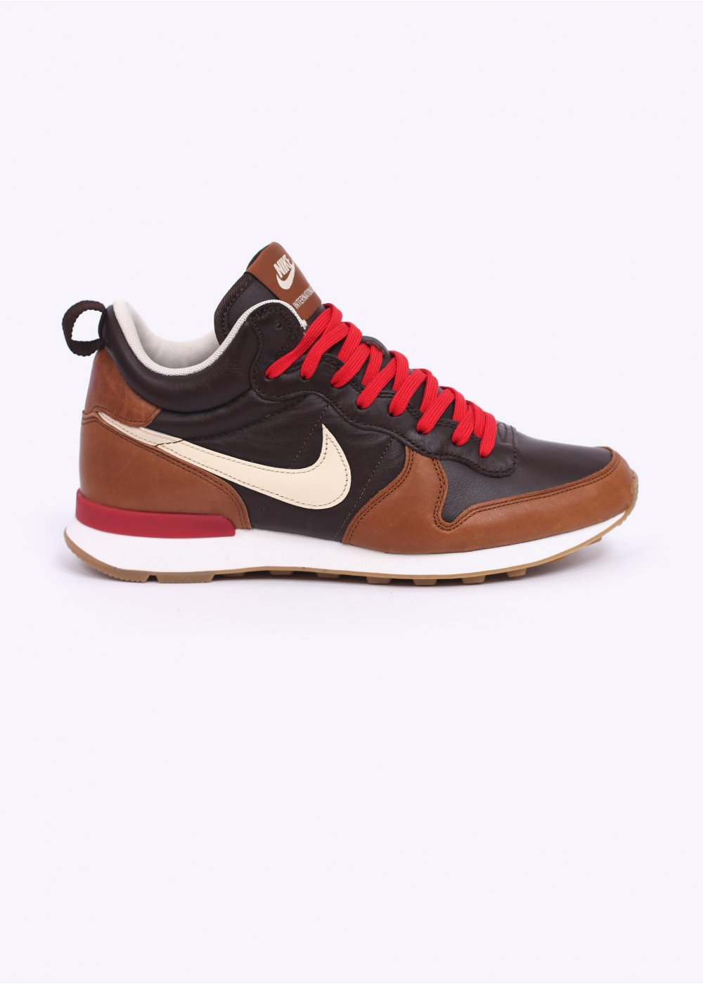 Nike Quickstrike QS Internationalist Mid 'Escape Pack' - Baroque Brown / Ale Brown / Red Clay / Flat Opal